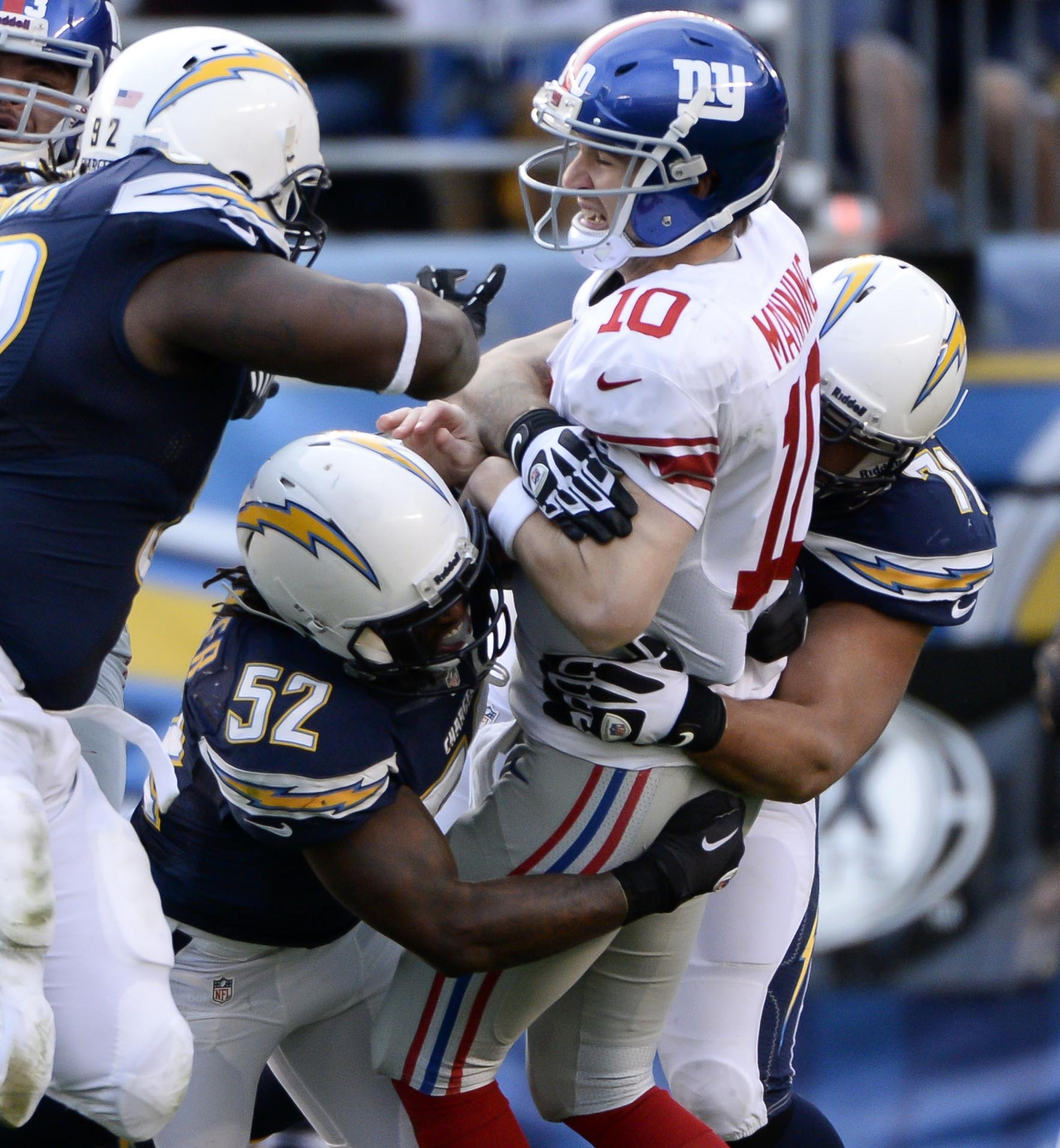 San Diego Chargers Depth Chart 2013: Week 14: Giants At Chargers