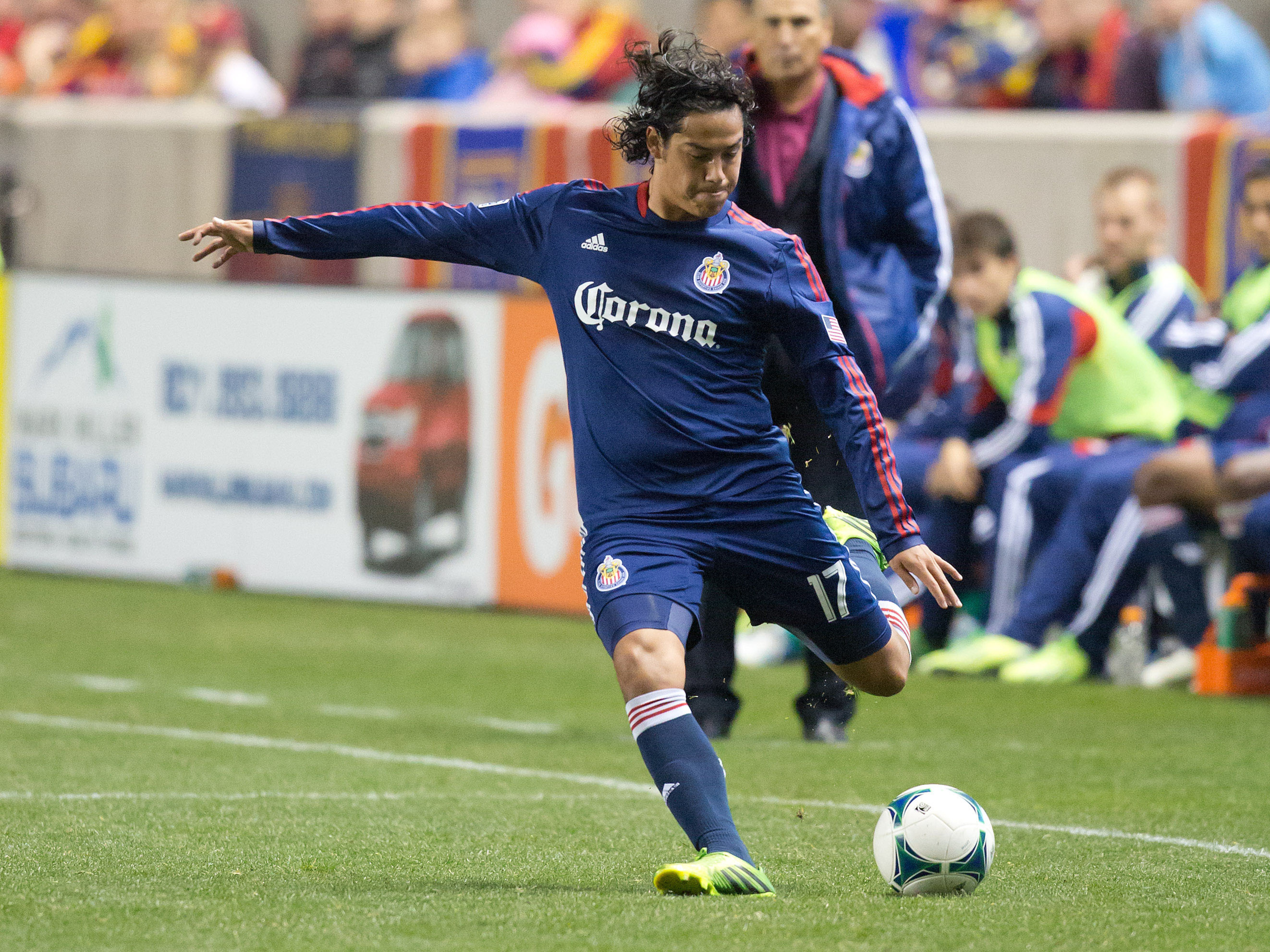 Frias: Made his pro debut with Chivas USA in 2013.