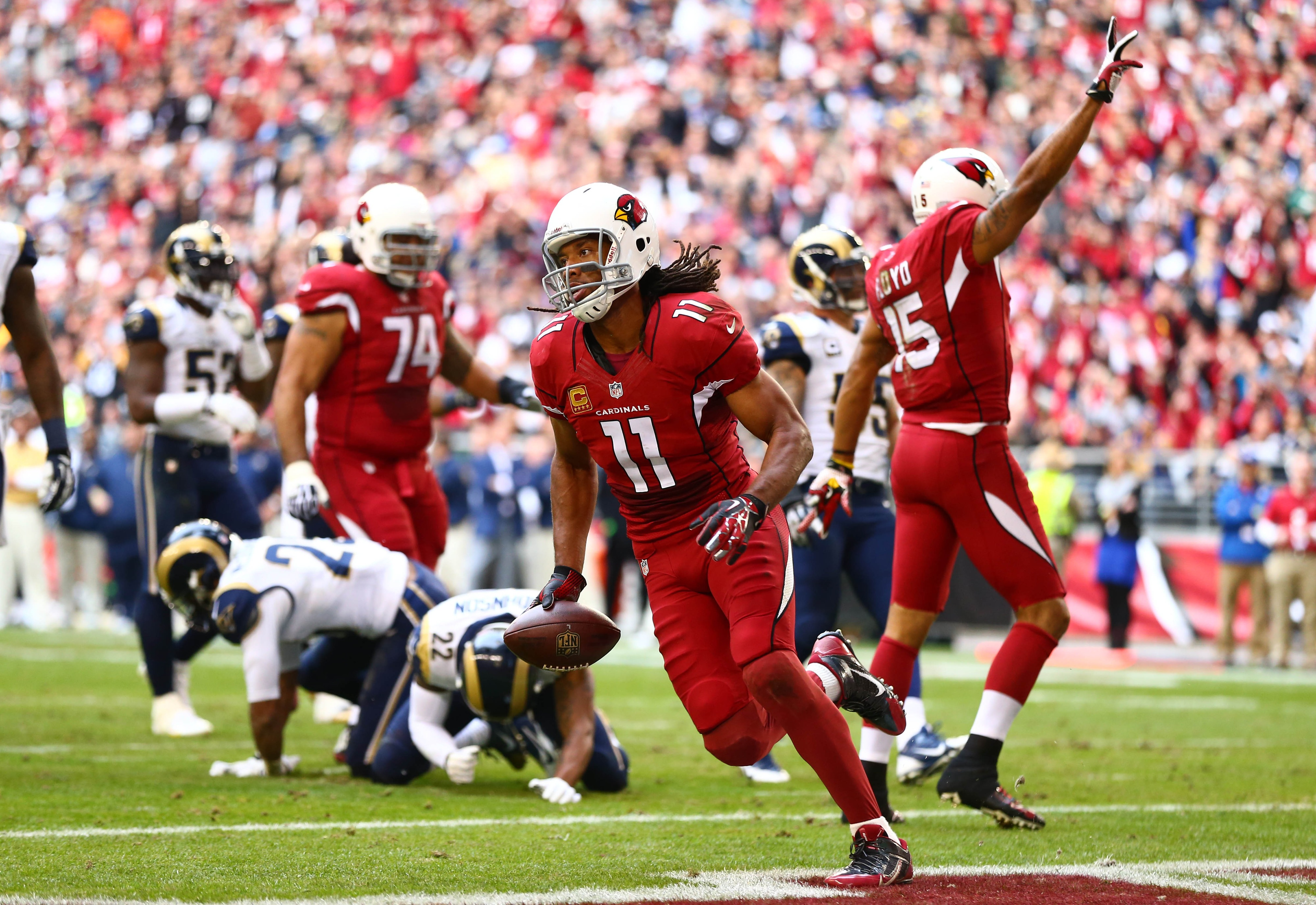 Cardinals stay alive in the NFC with win against the Rams