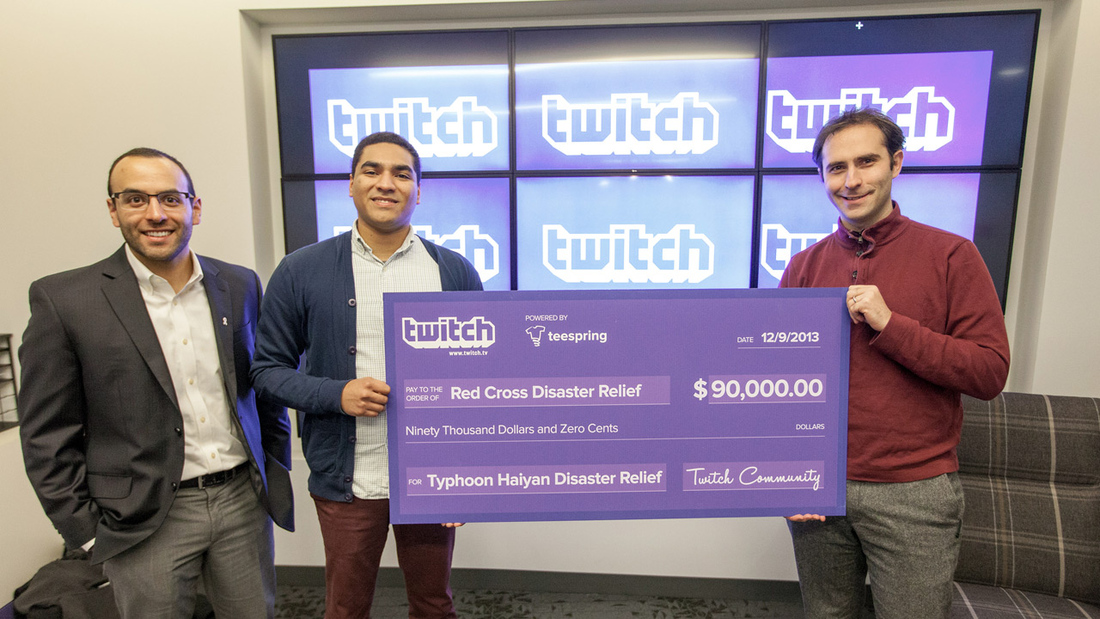 Twitch helps raise $90K for Typhoon Haiyan relief, $1.22M through Extra Life
