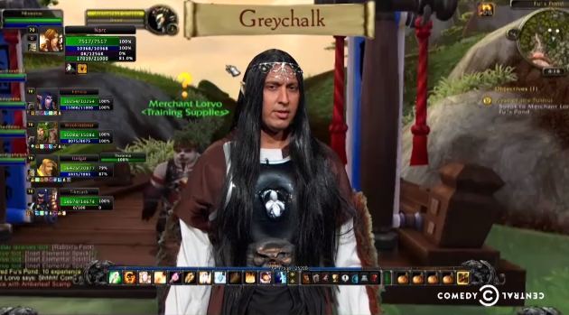 Watch Jon Stewart make fun of the NSA's foray into World of Warcraft
