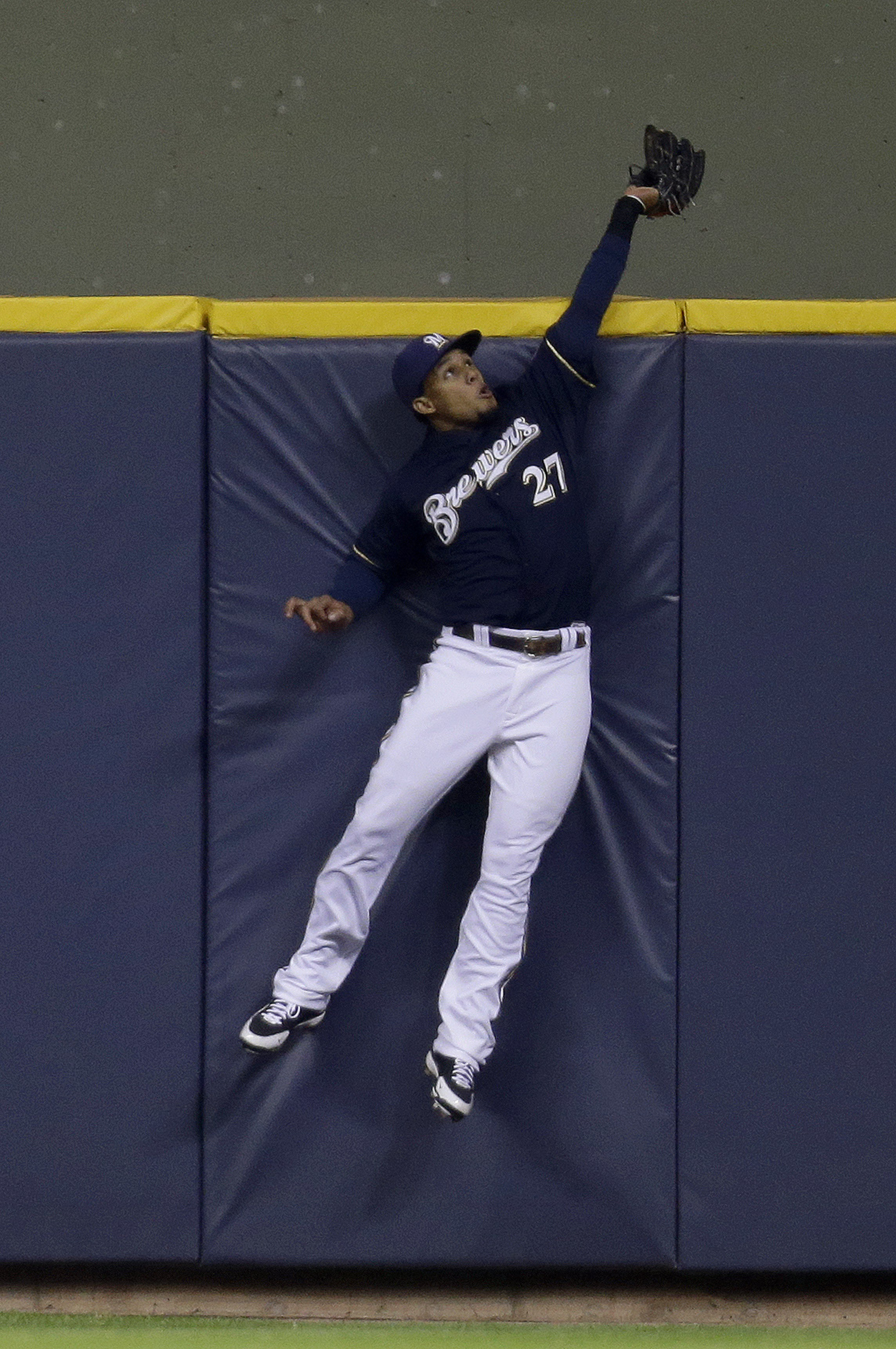 Carlos Gomez had a great year, and his position matters too.