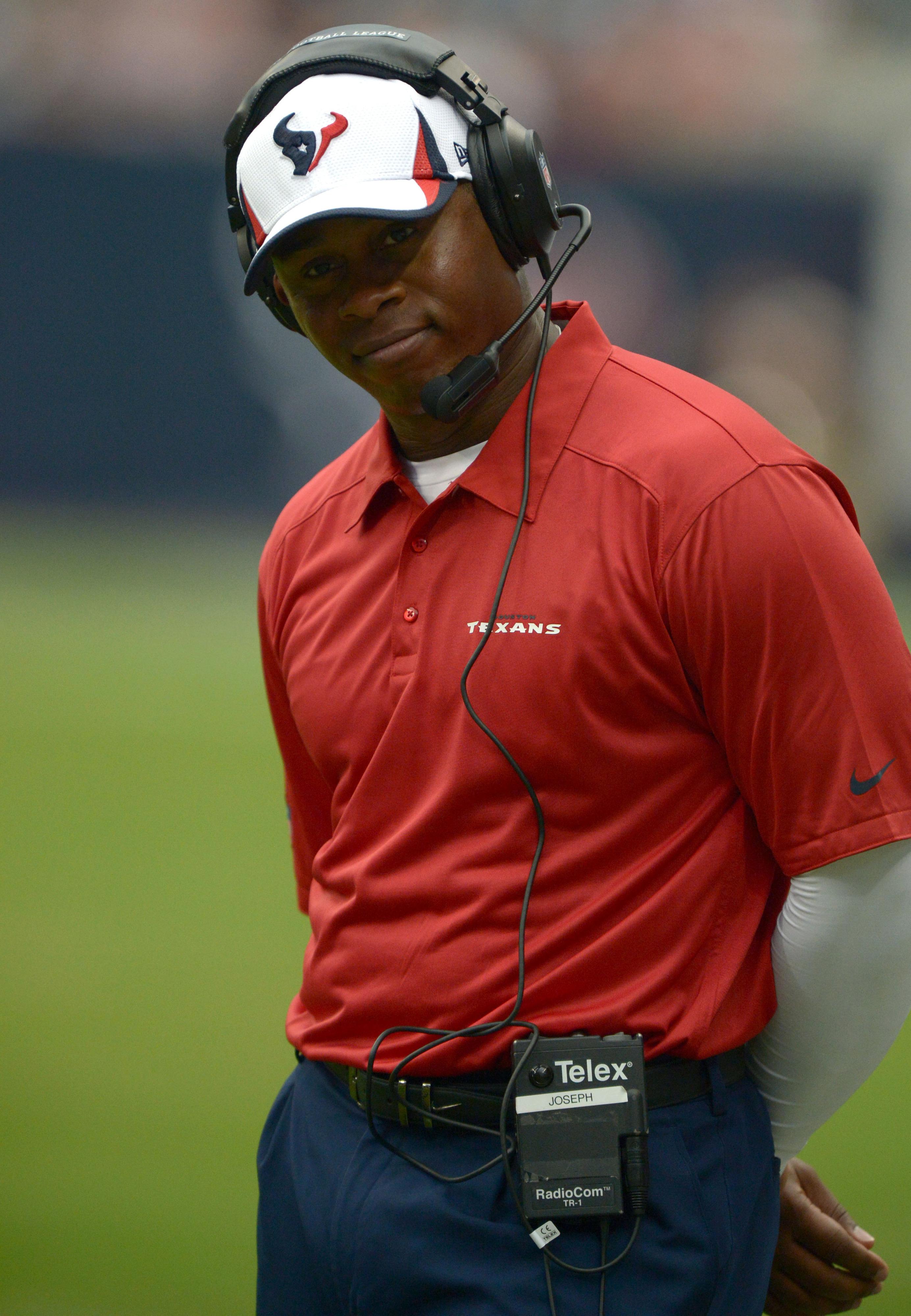 Your new defensive coordinator, Texans fans.