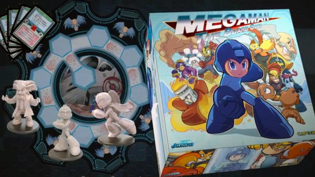 Mega Man: The Board Game heads to Kickstarter