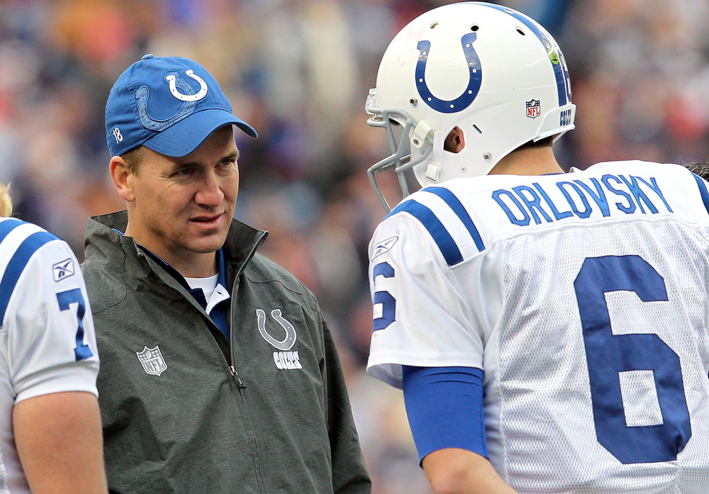"""Dan """"Judas"""" Orlovsky beat his former team as a member of the Indianapolis Colts. Just another chapter in the long, sad history of the Texans playing at Lucas Oil Stadium."""