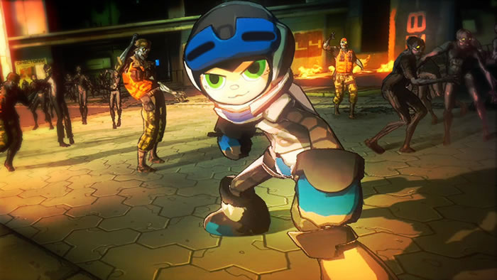 Mighty No. 9 is making a cameo in Yaiba: Ninja Gaiden Z