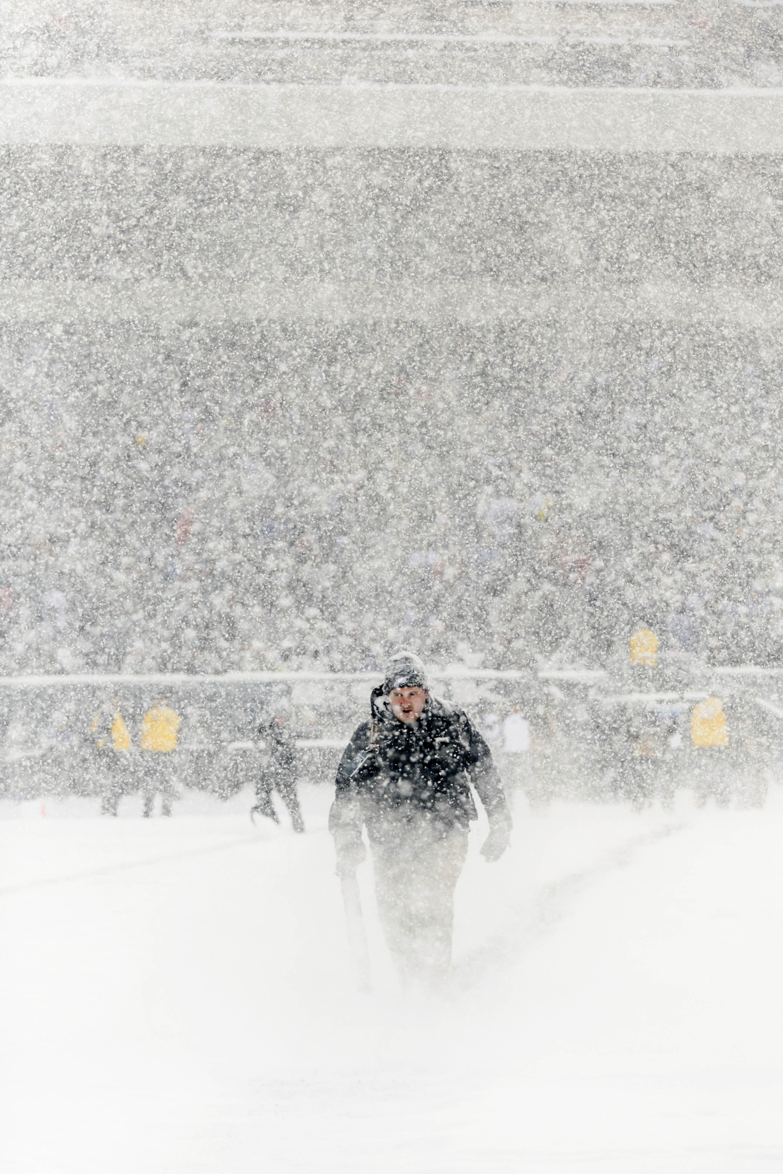 Snow could be a factor for fans traveling to Sunday's game