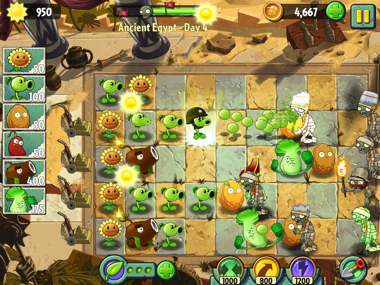 Plants vs. Zombies 2 update adds new levels, fixes