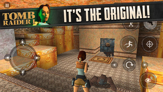 Original Tomb Raider comes to mobile devices