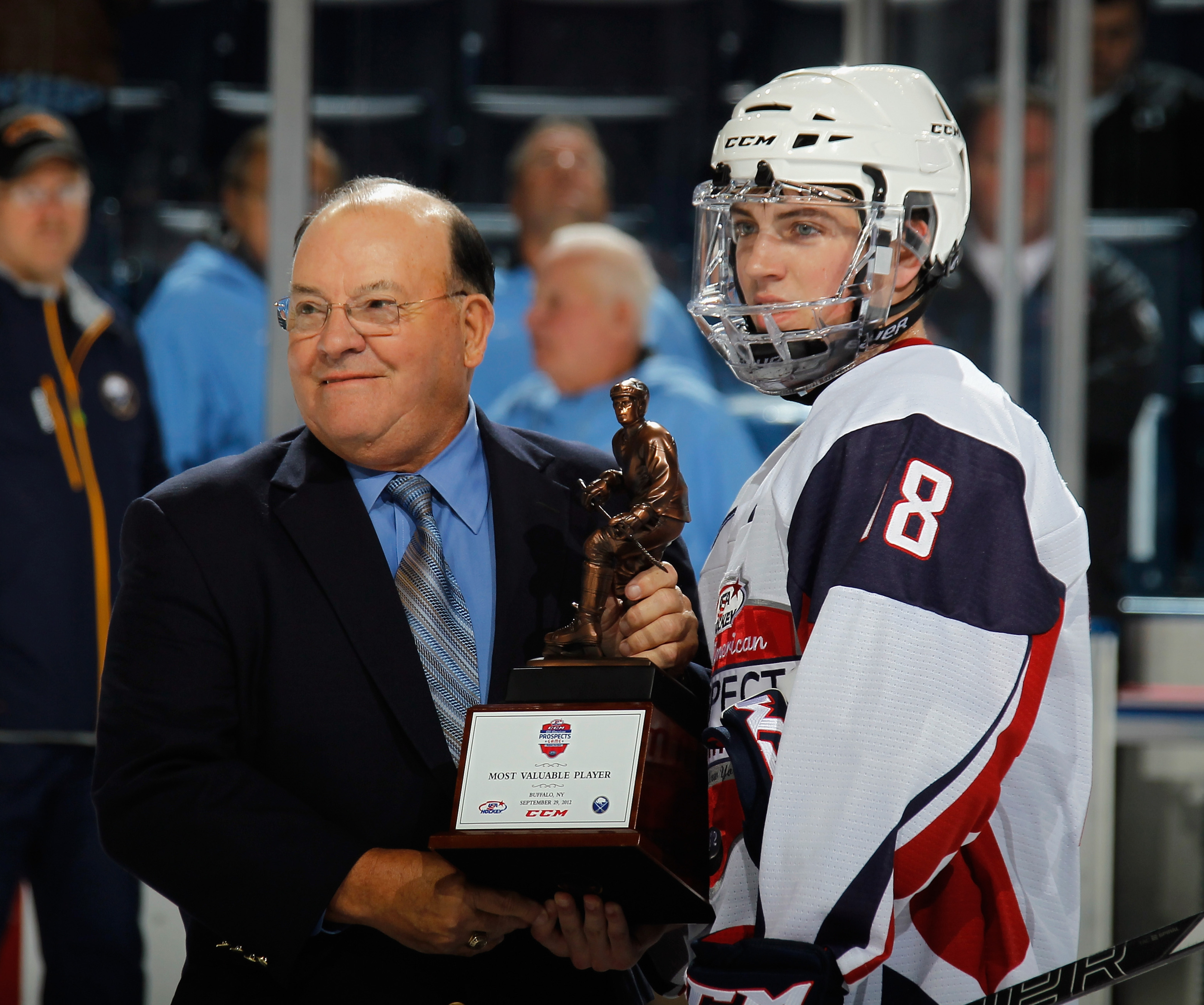 Boston College's Ryan Fitzgerald was among the first round of cuts for the US World Junior team