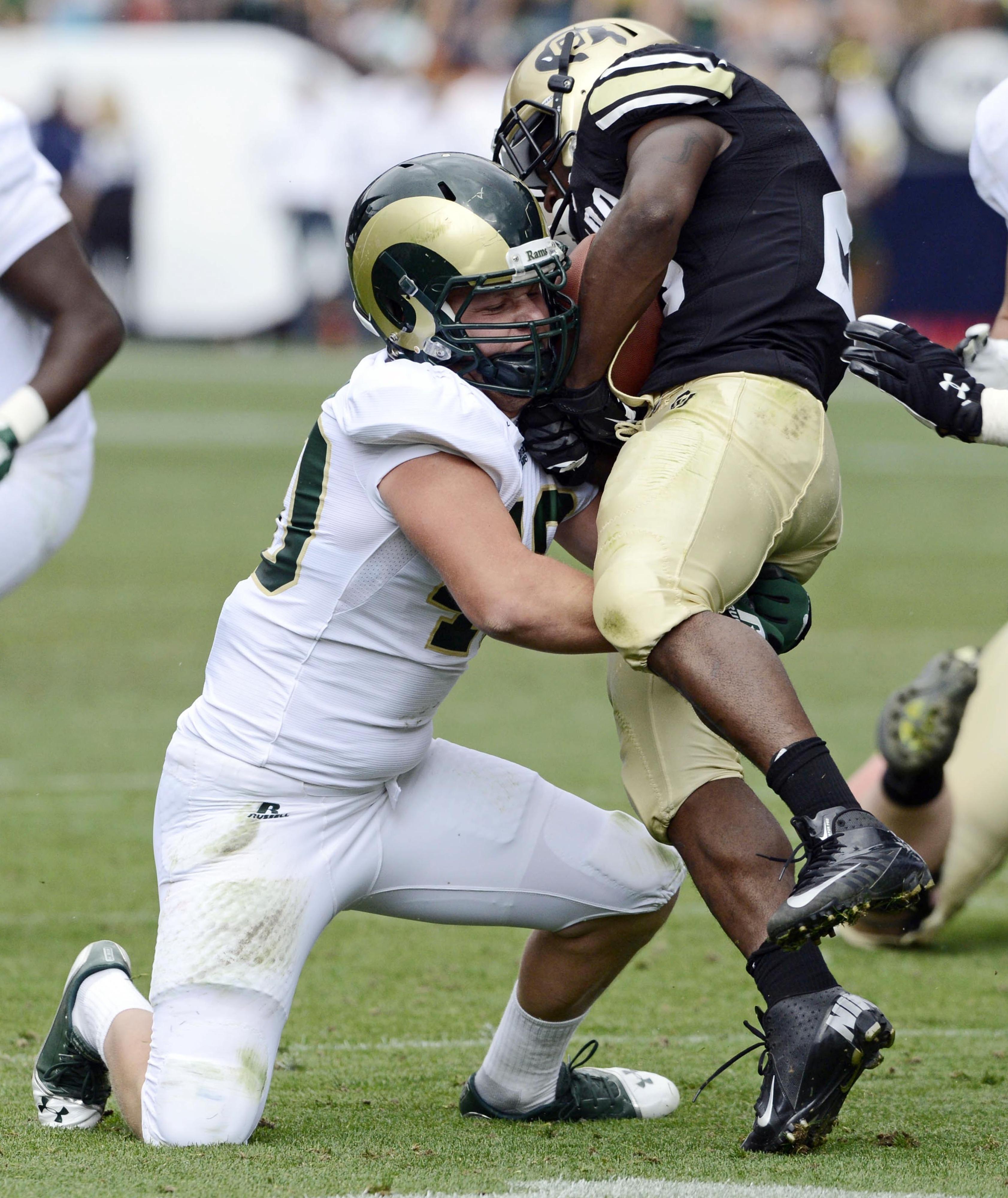 Linebacker Max Morgan is a stalwart for CSU.