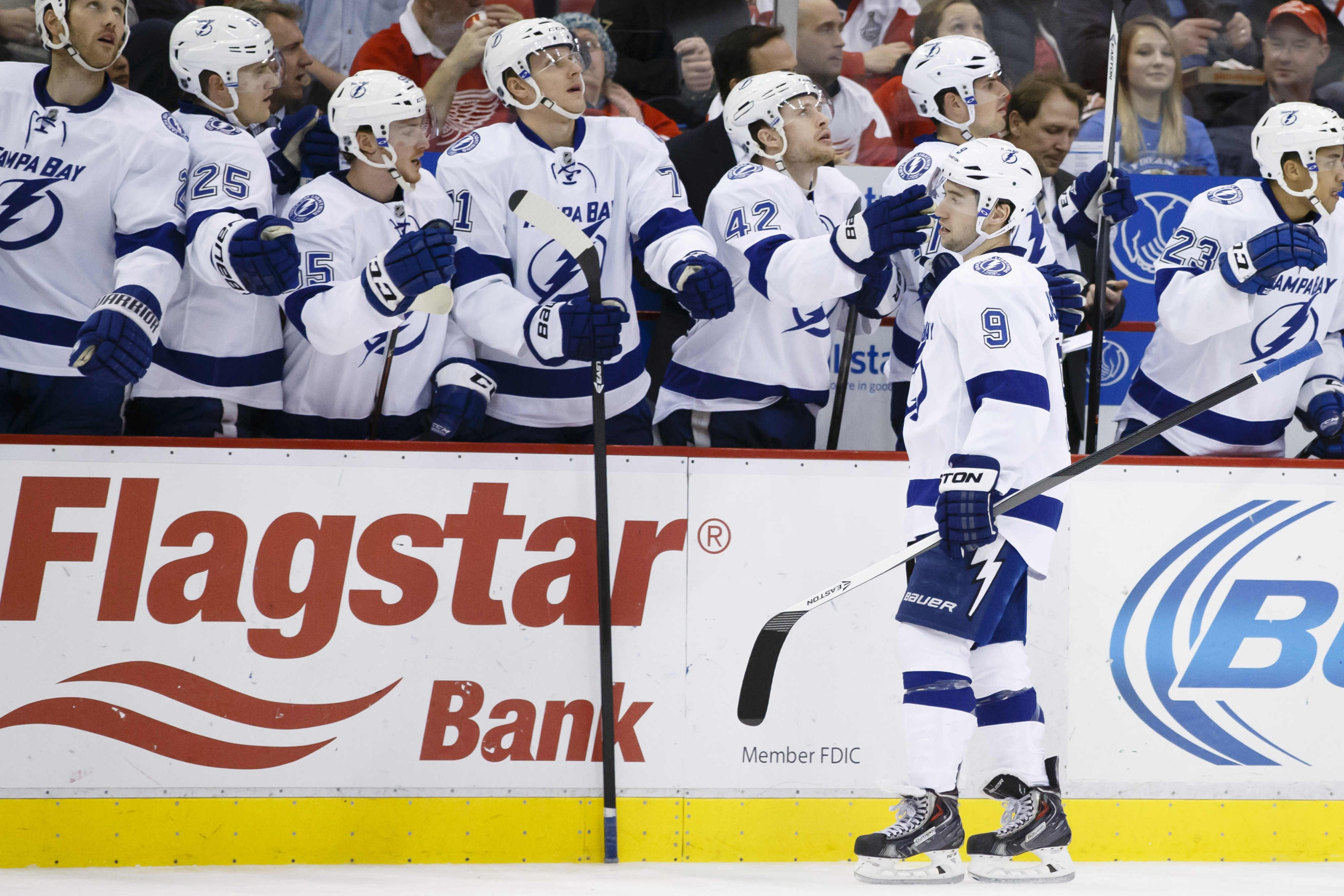 Tyler Johnson has kicked some ice this year. Surprised?