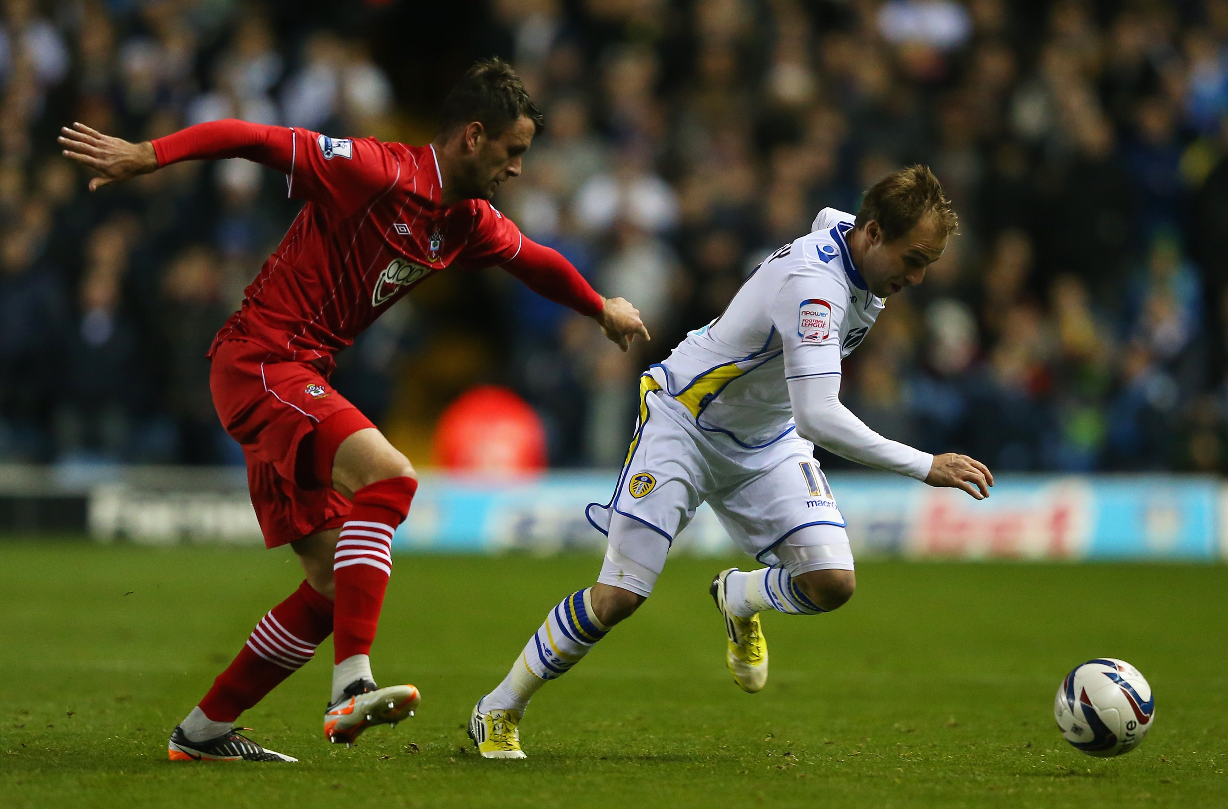 Luke Varney won a first half penalty.