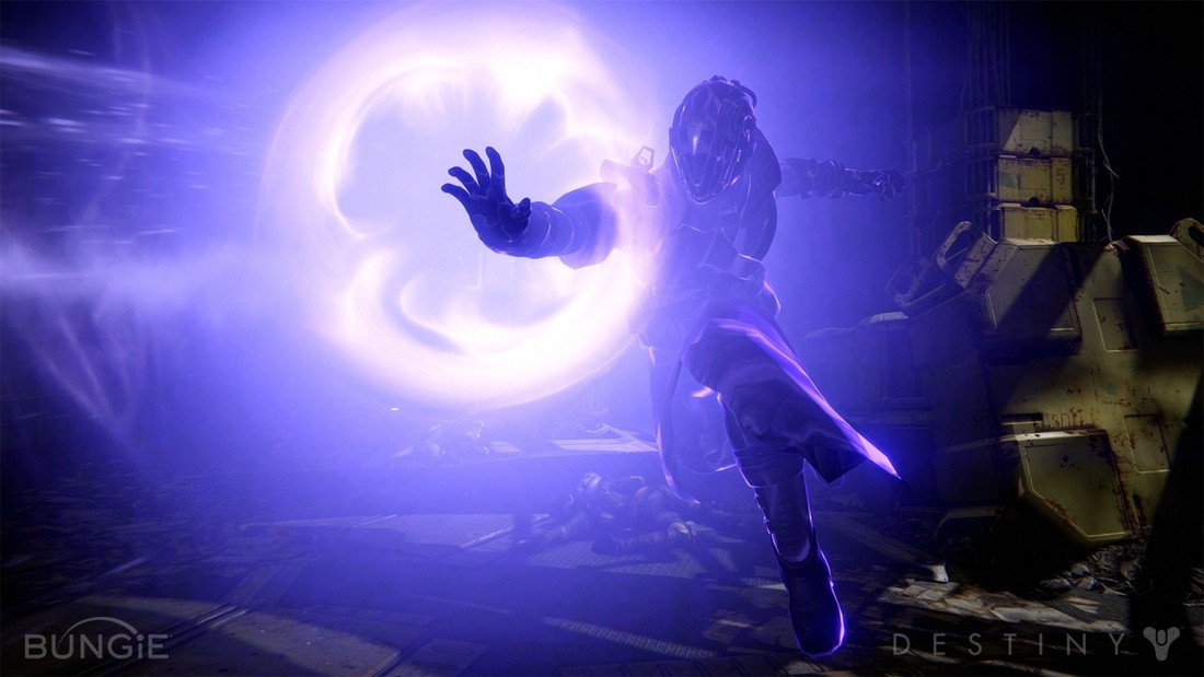 Destiny originally featured a third-person only viewpoint