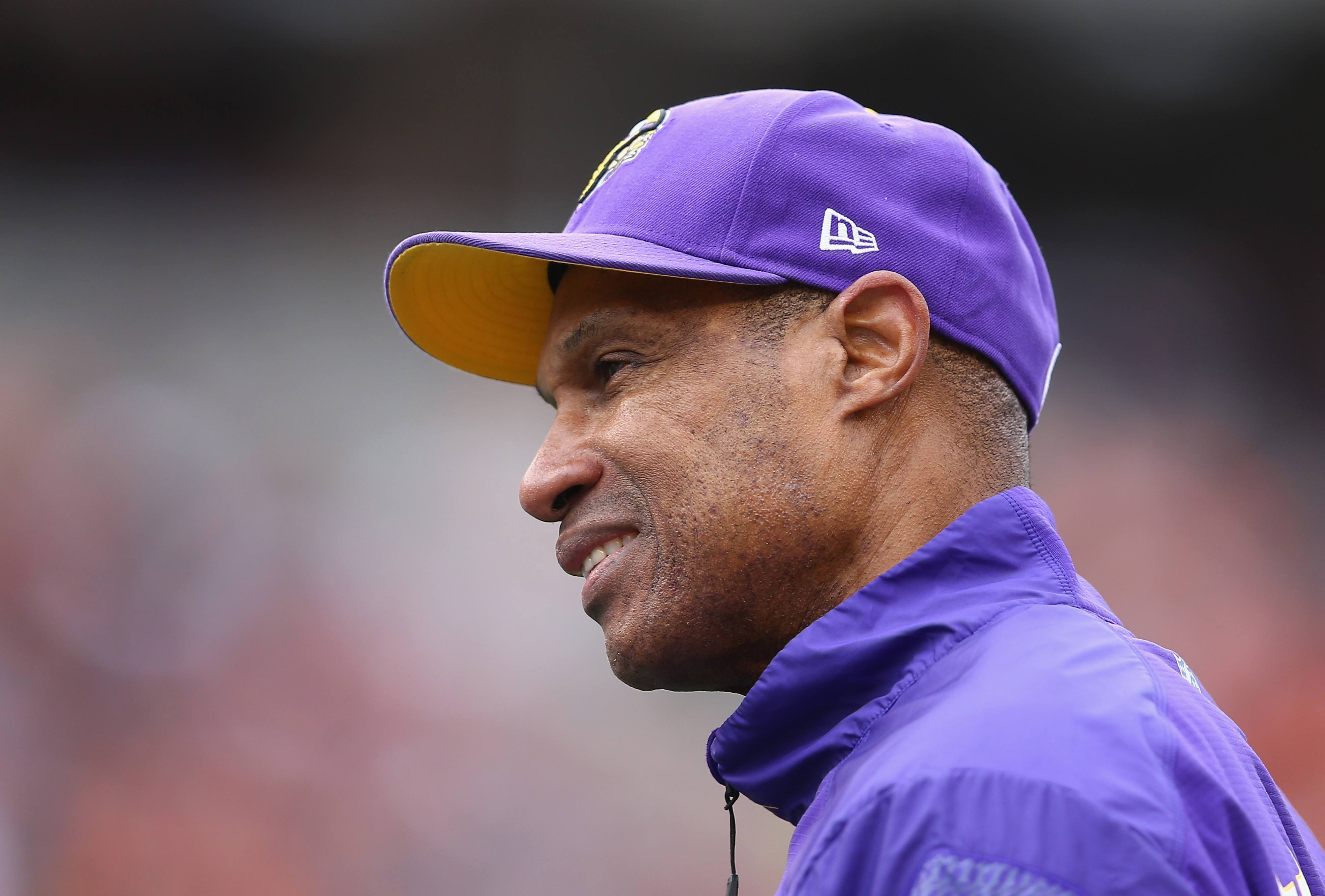 Leslie Frazier might be the nicest guy in the unemployment office after Sunday's game.