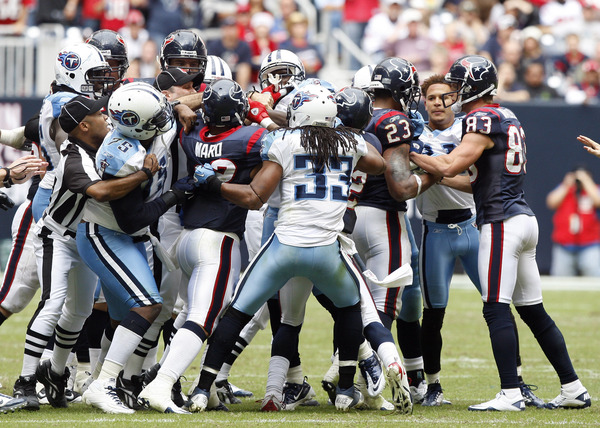A few fisticuffs and donnybrooks would make this upcoming Texans game much more interesting.