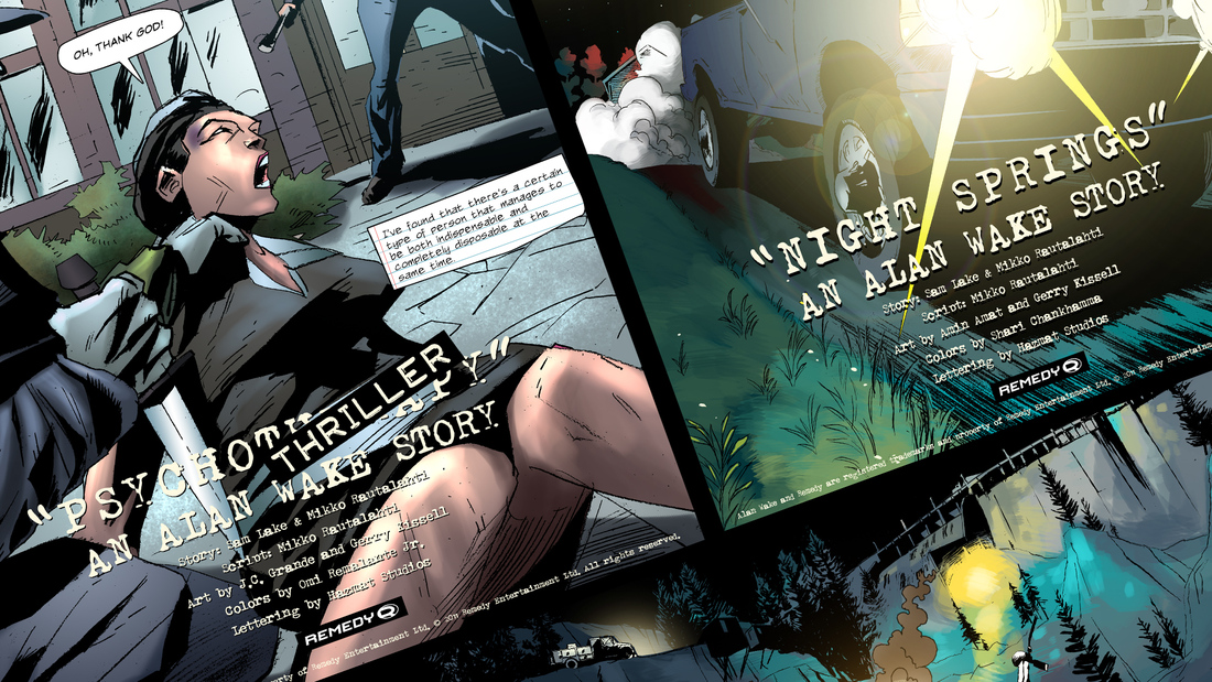 Get Alan Wake's new bonus materials free on Steam