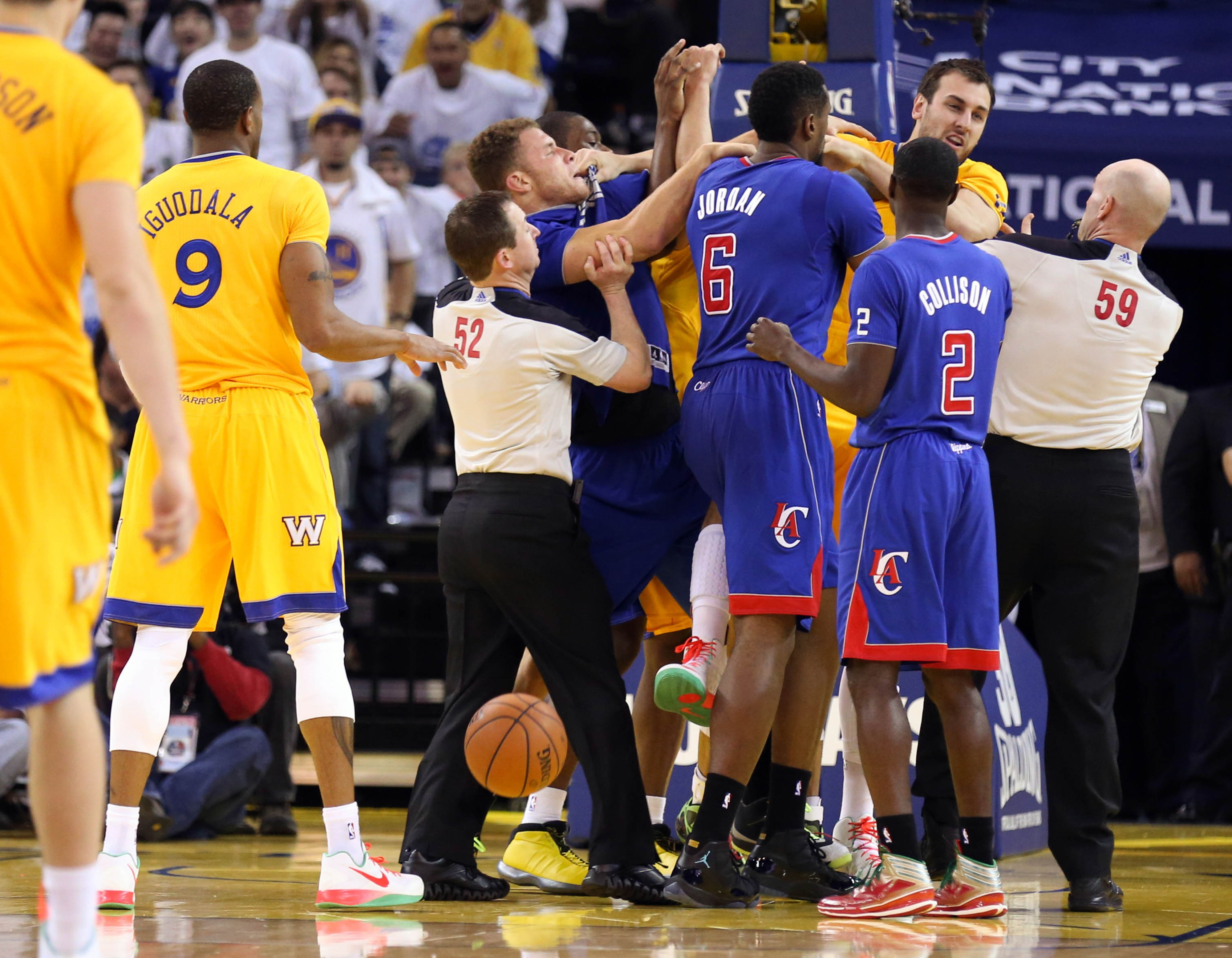Blake Griffin shouldn't have been ejected, NBA says in statement