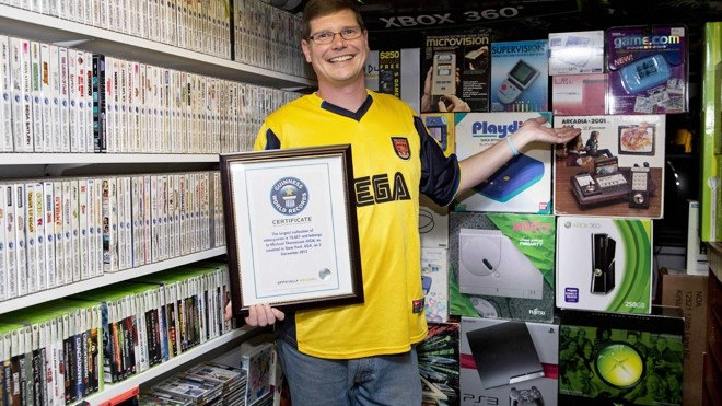 Guinness World Record-breaking video game collection has more than 11,000 titles