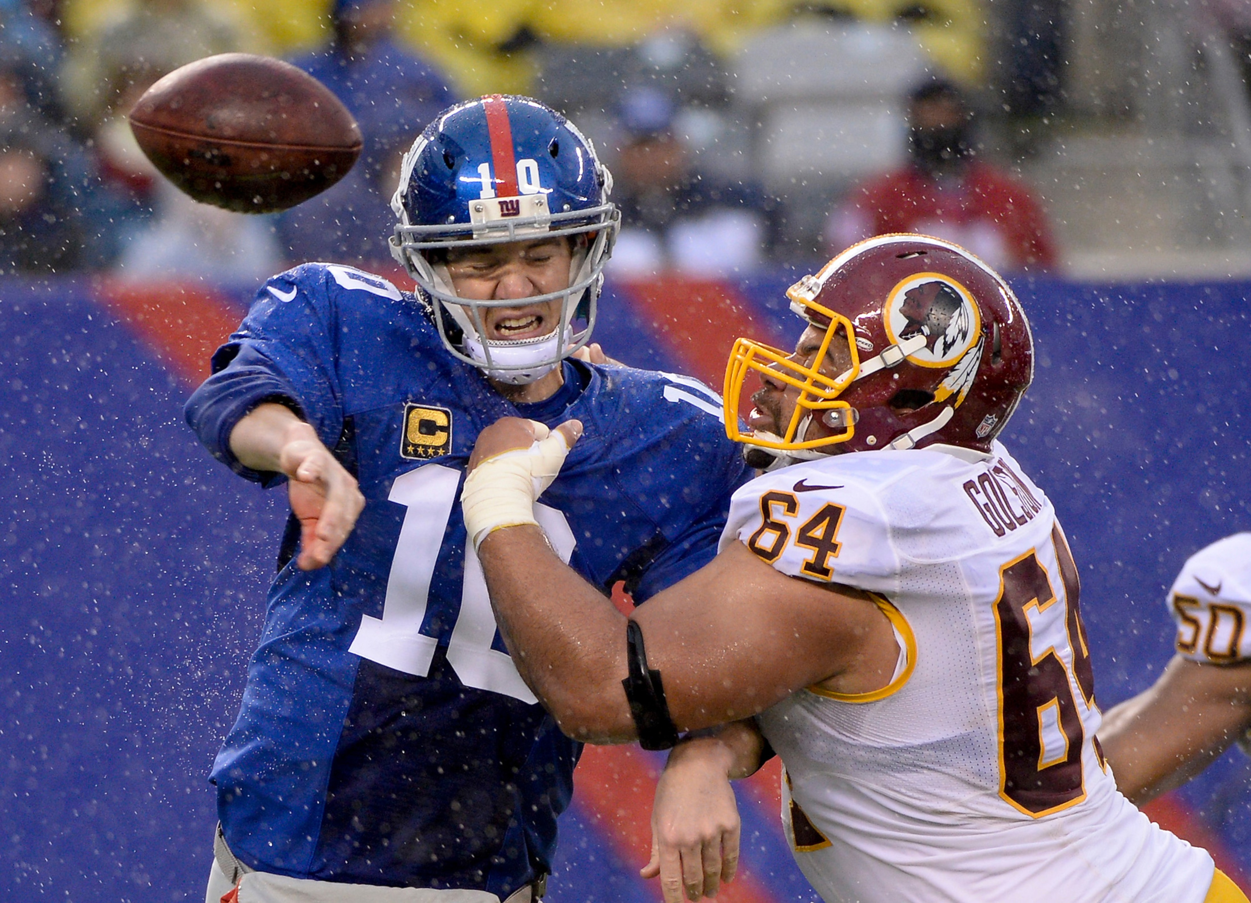 It was this kind of year for Eli Manning and the Giants.