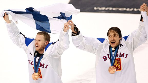 The two Finnish Ducks for the Olympic fin(n)ish!