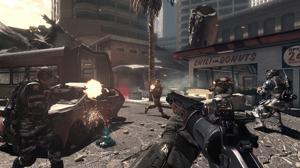 What if Call of Duty: Ghosts were a text adventure?