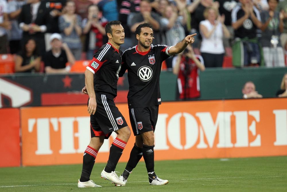 Hamdi Salihi and Dwayne De Rosario back in May of 2012.