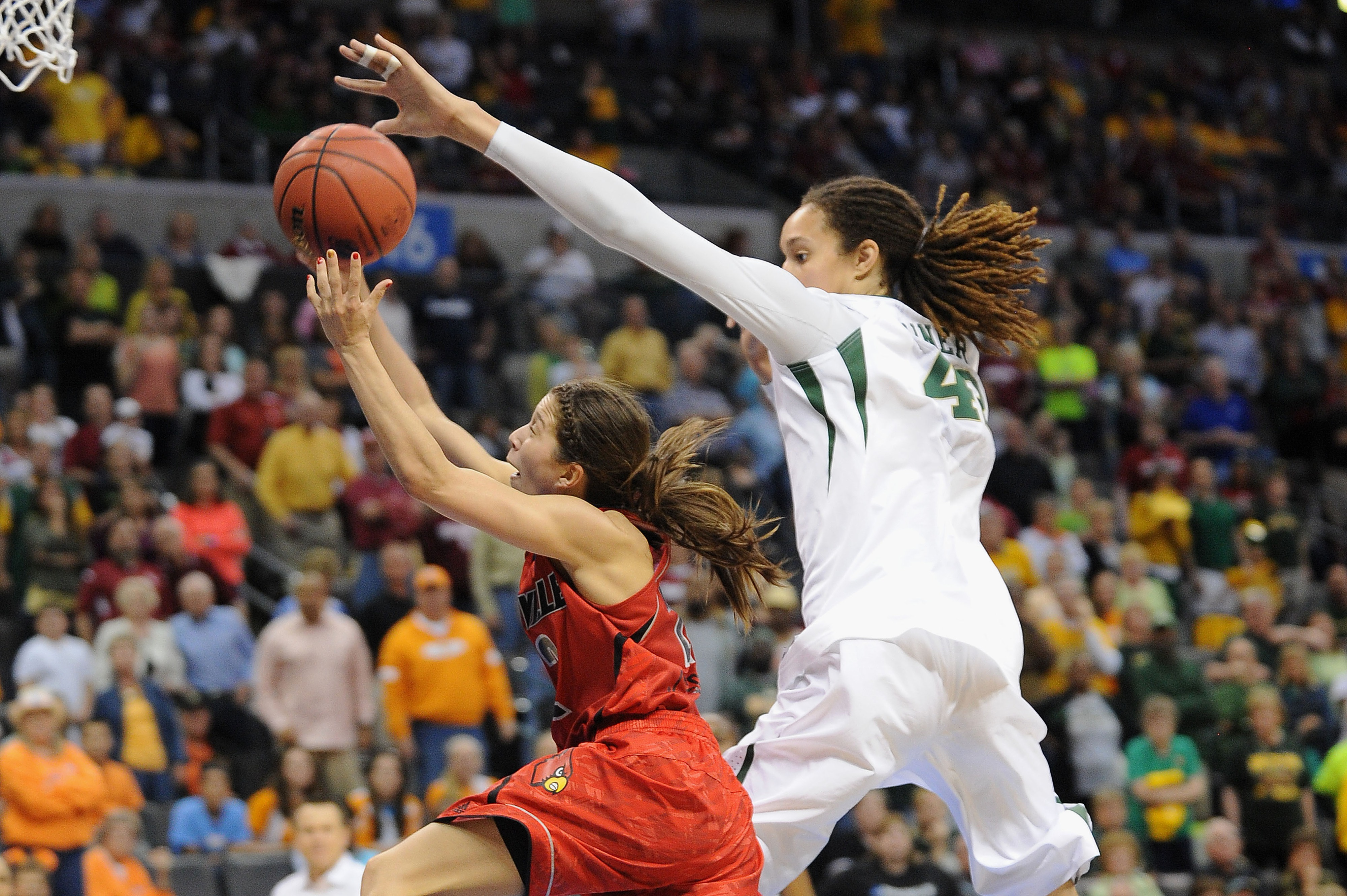 Even in loss, former Baylor Lady Bears star Brittney Griner was involved in many of the biggest stories of 2013.
