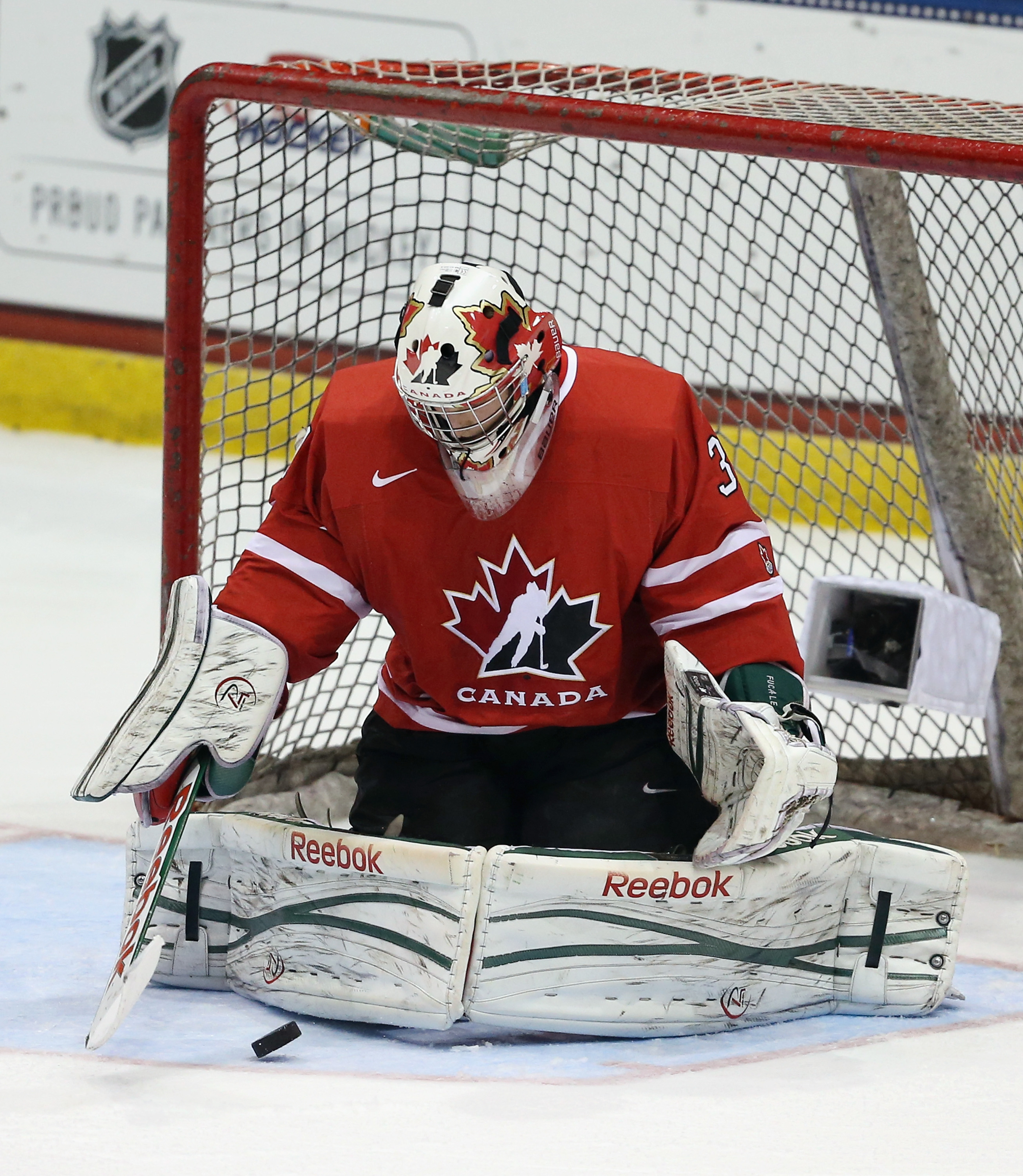 Zachary Fucale was a difference-maker for Canada in goal, and was named Player of the Game.