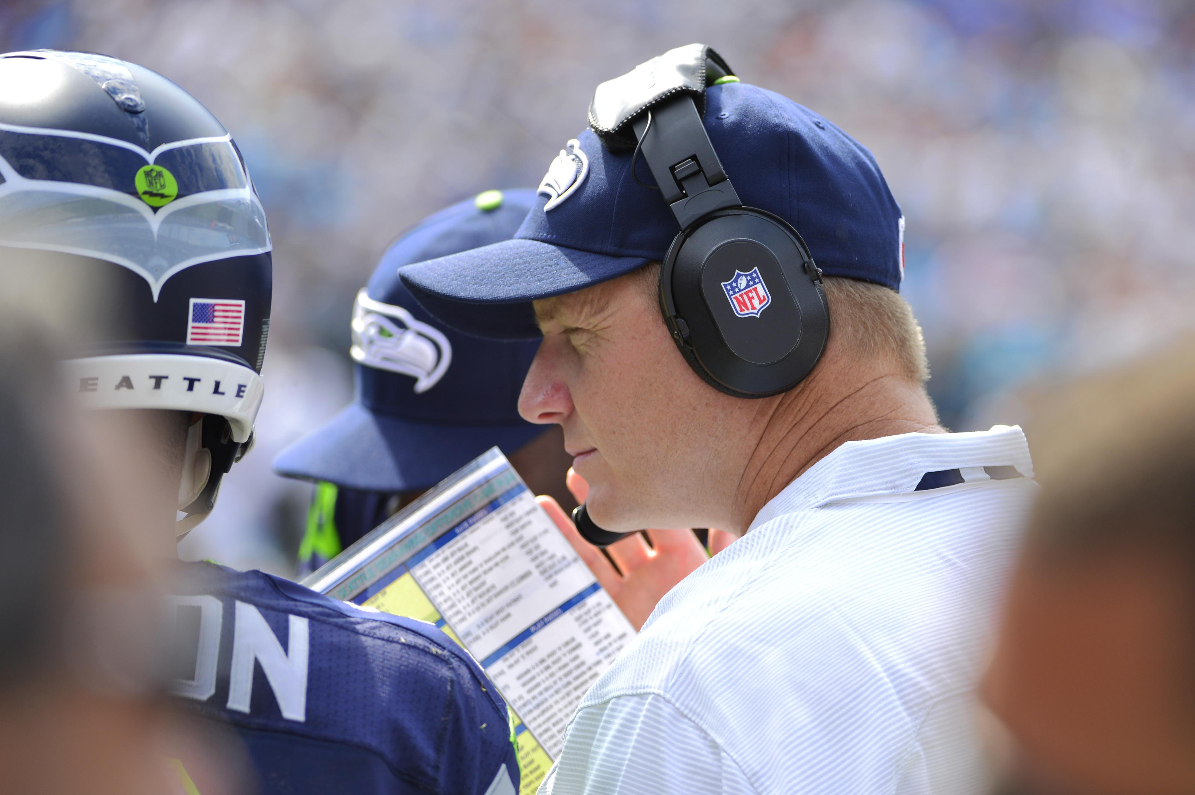 Redskins interview Seahawks OC Darrell Bevell