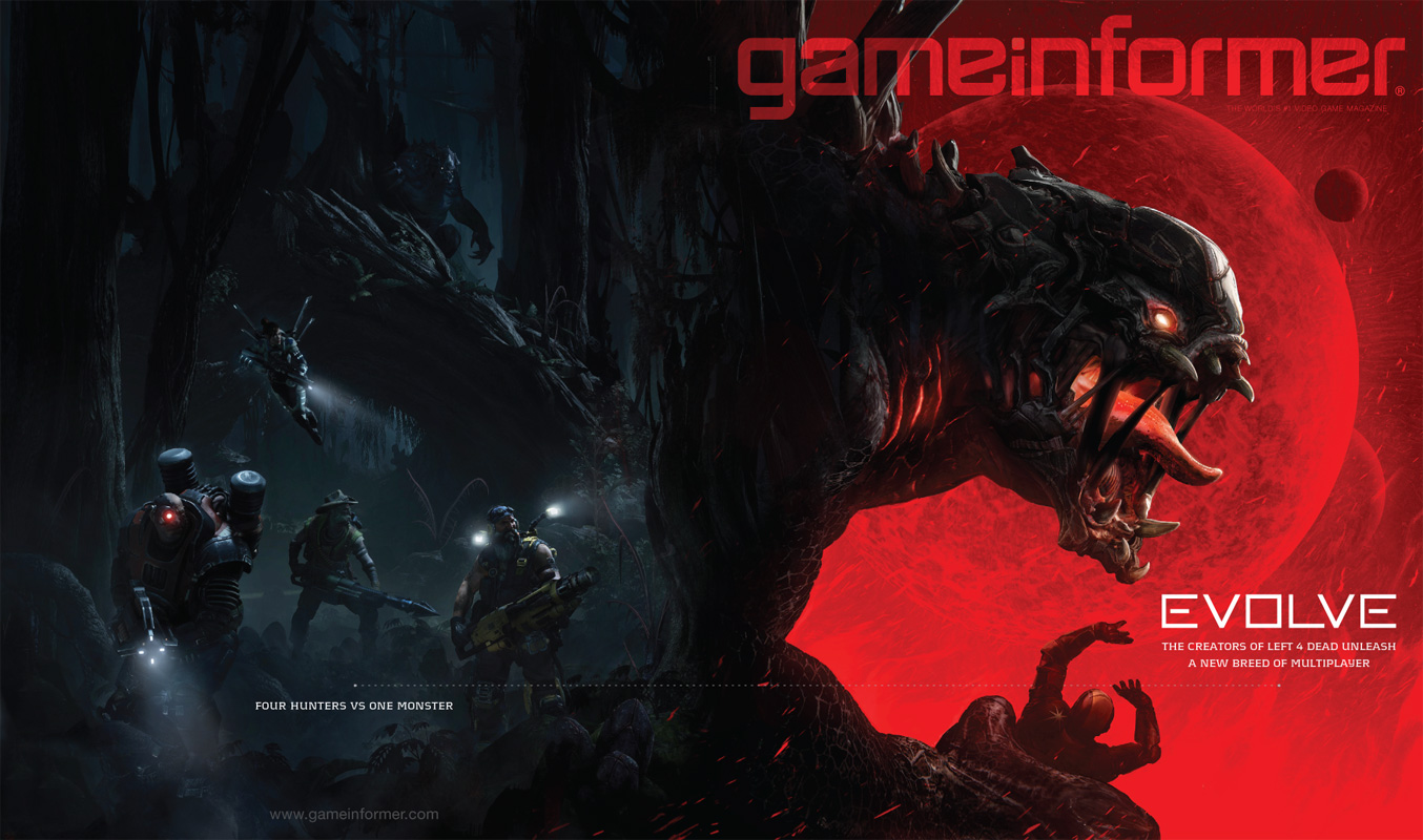 Left 4 Dead creators reveal new co-op shooter, Evolve