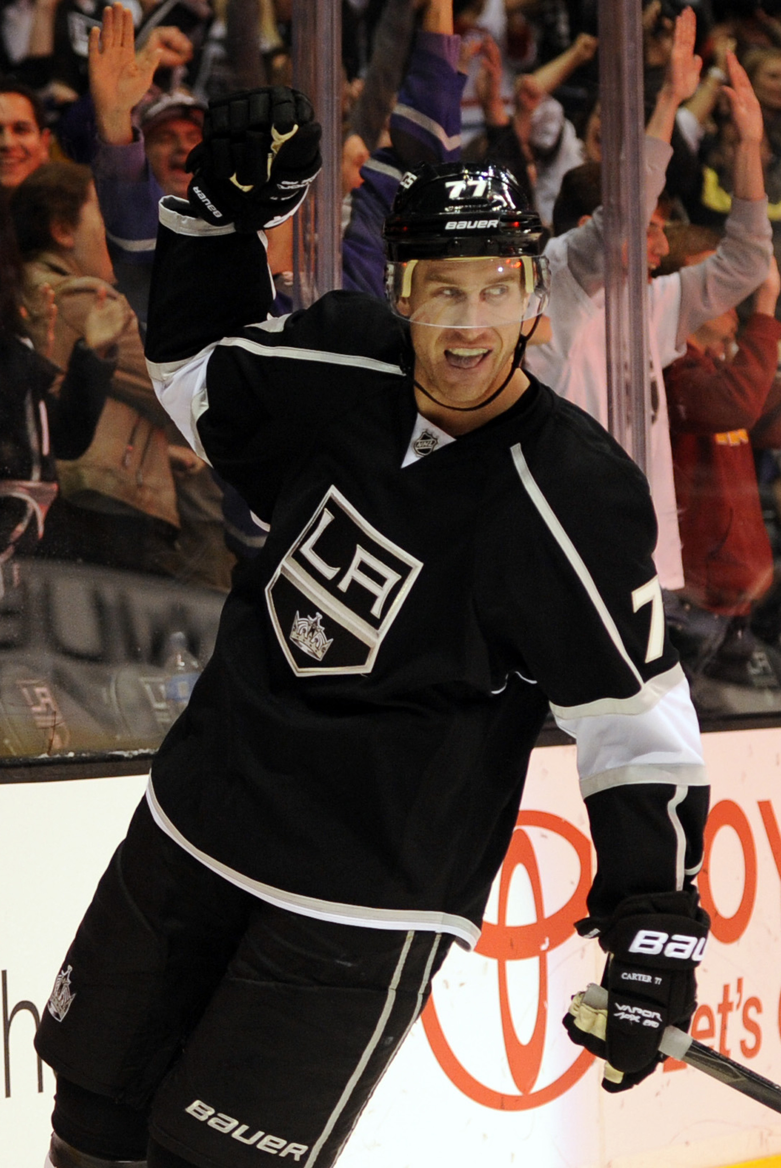 look on jeff carter's works, ye mighty, and despair