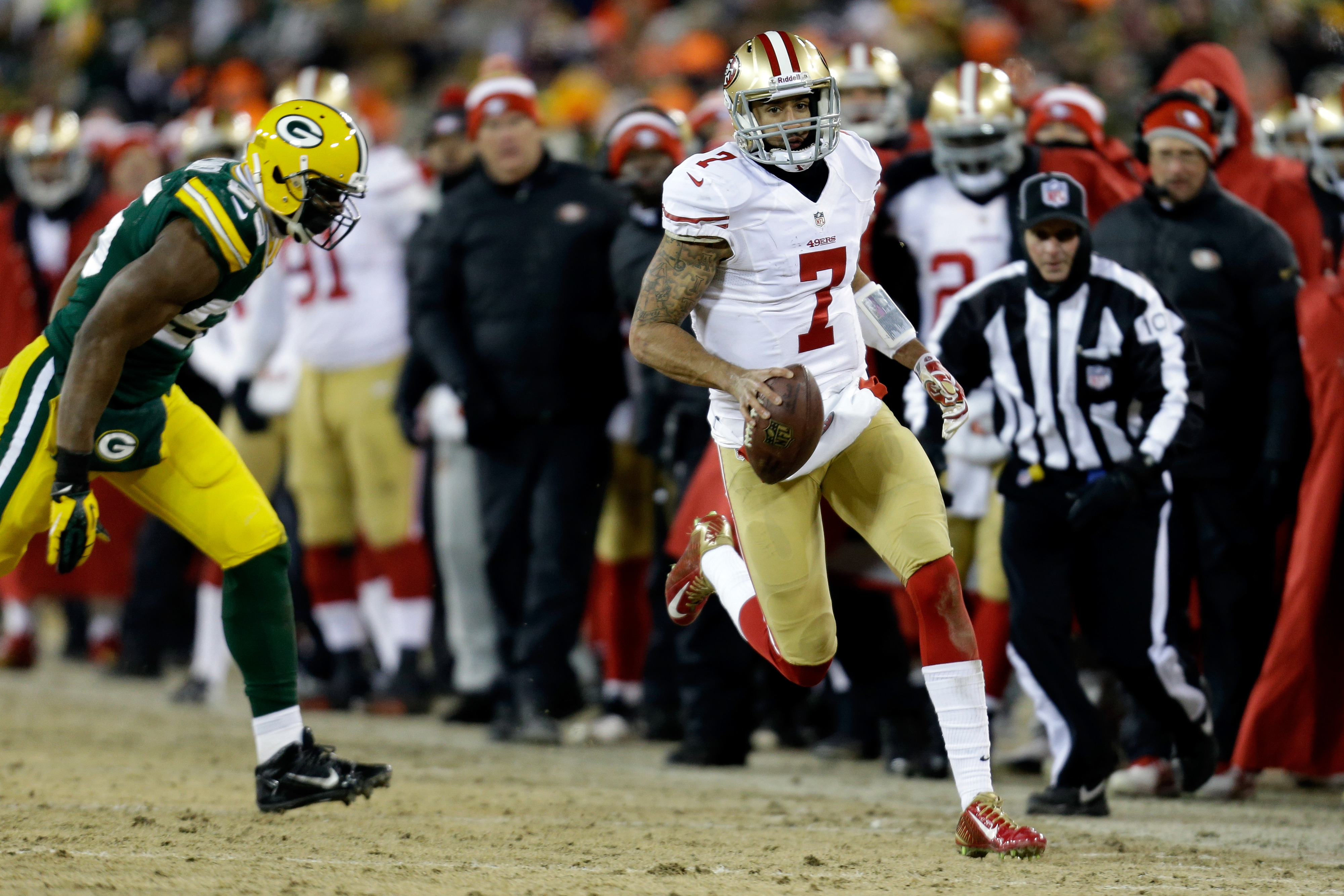 2014 NFL playoffs, 49ers vs. Panthers: Can the Panthers contain Colin Kaepernick?