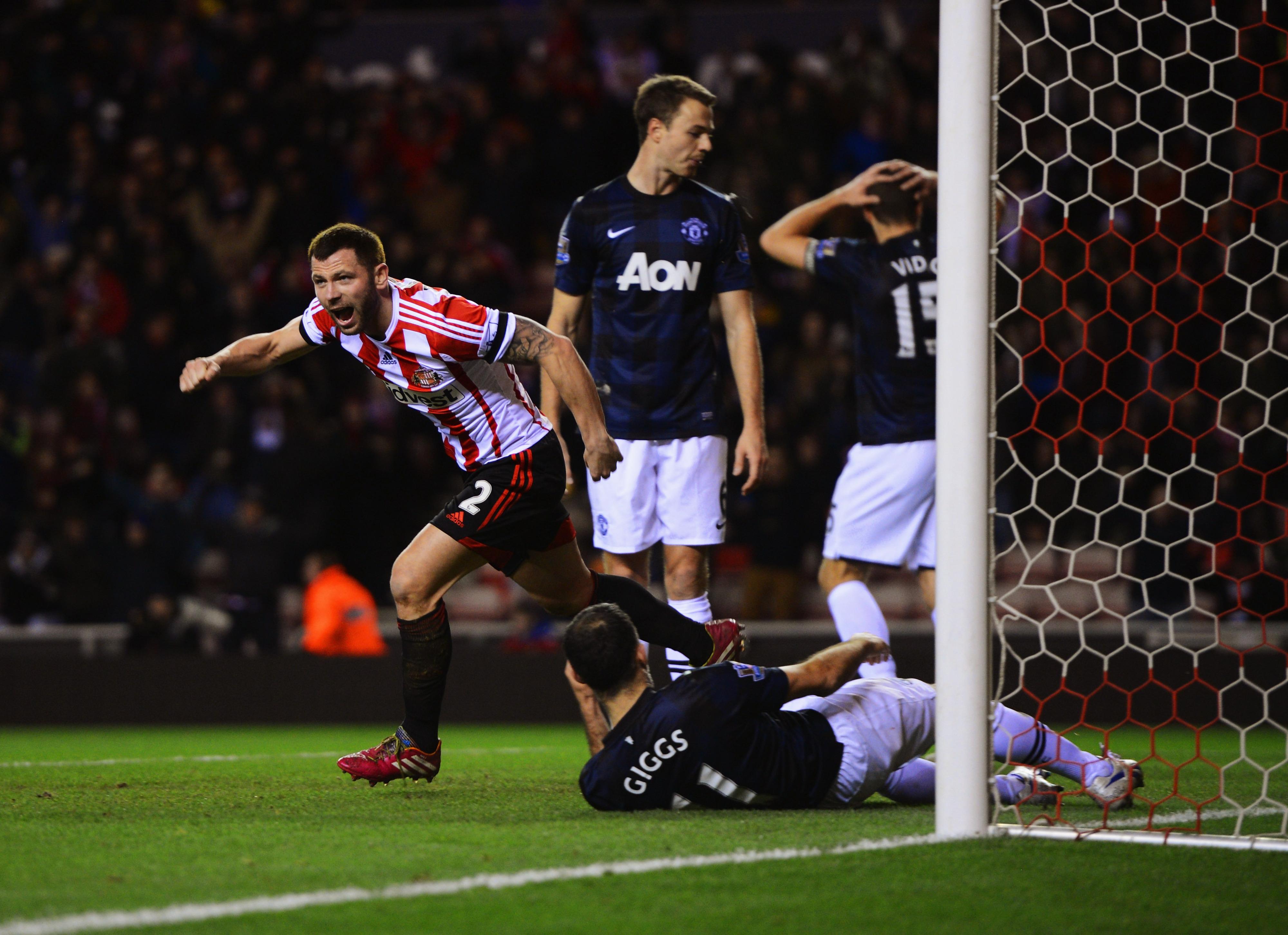 Sunderland vs. Manchester United: Final score 2-1, Black Cats take lead into second leg