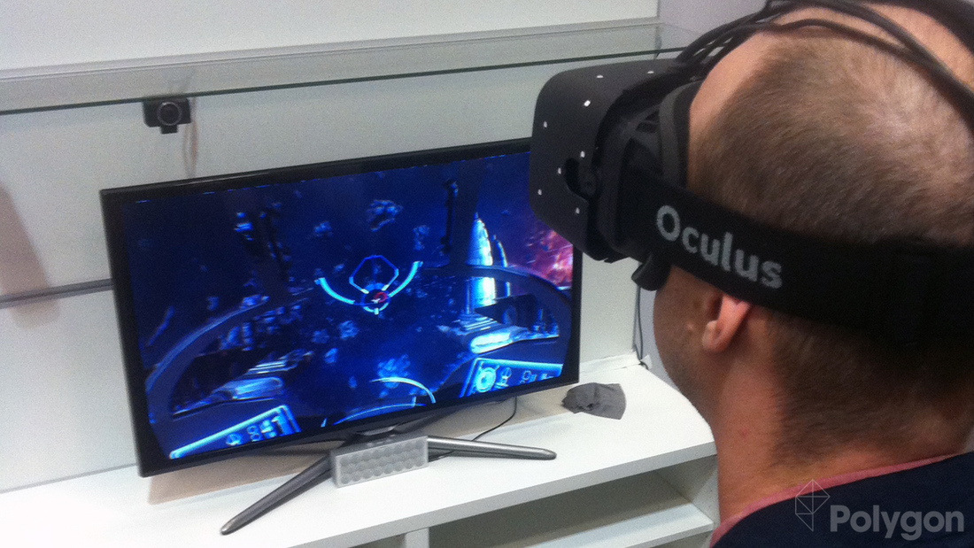 Taking flight with the position-tracking Oculus Rift 'Crystal Cove'