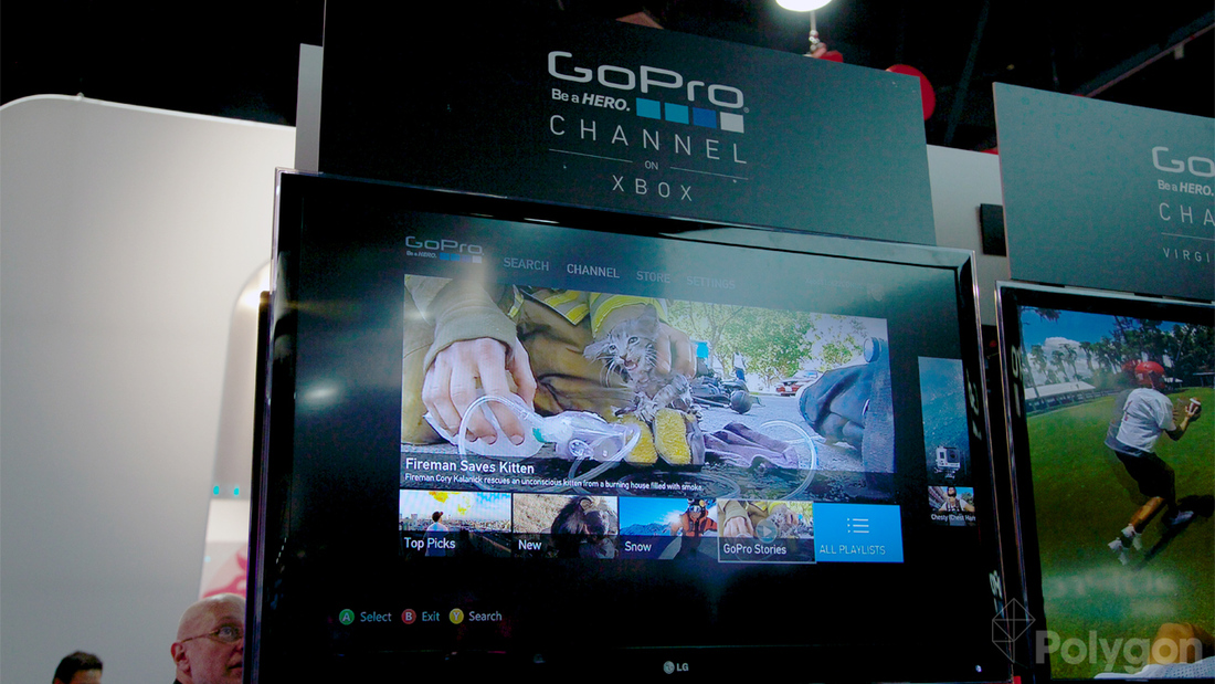 GoPro Channel coming to Xbox, lets you buy cameras through your console