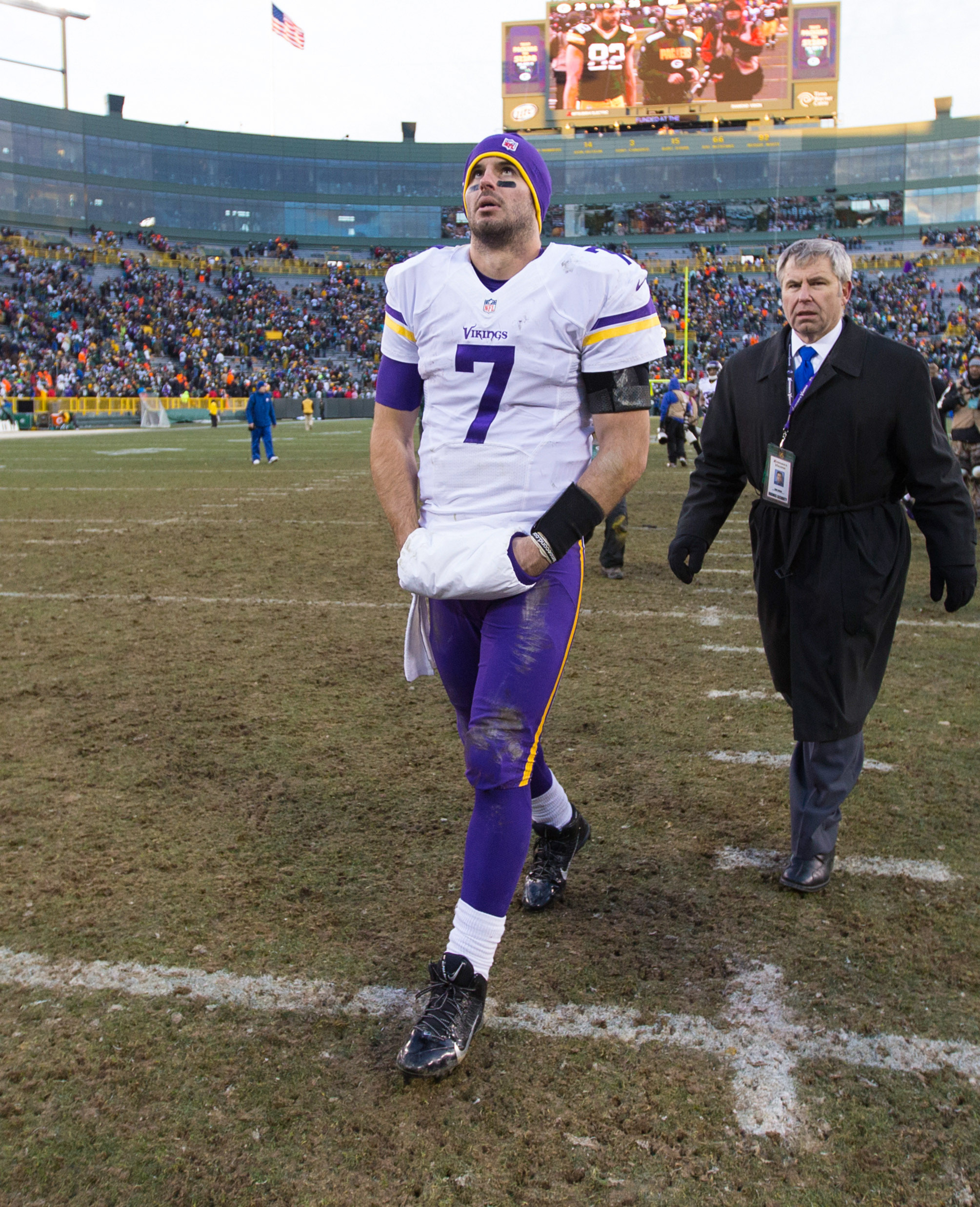 Vikings may be done with Christian Ponder