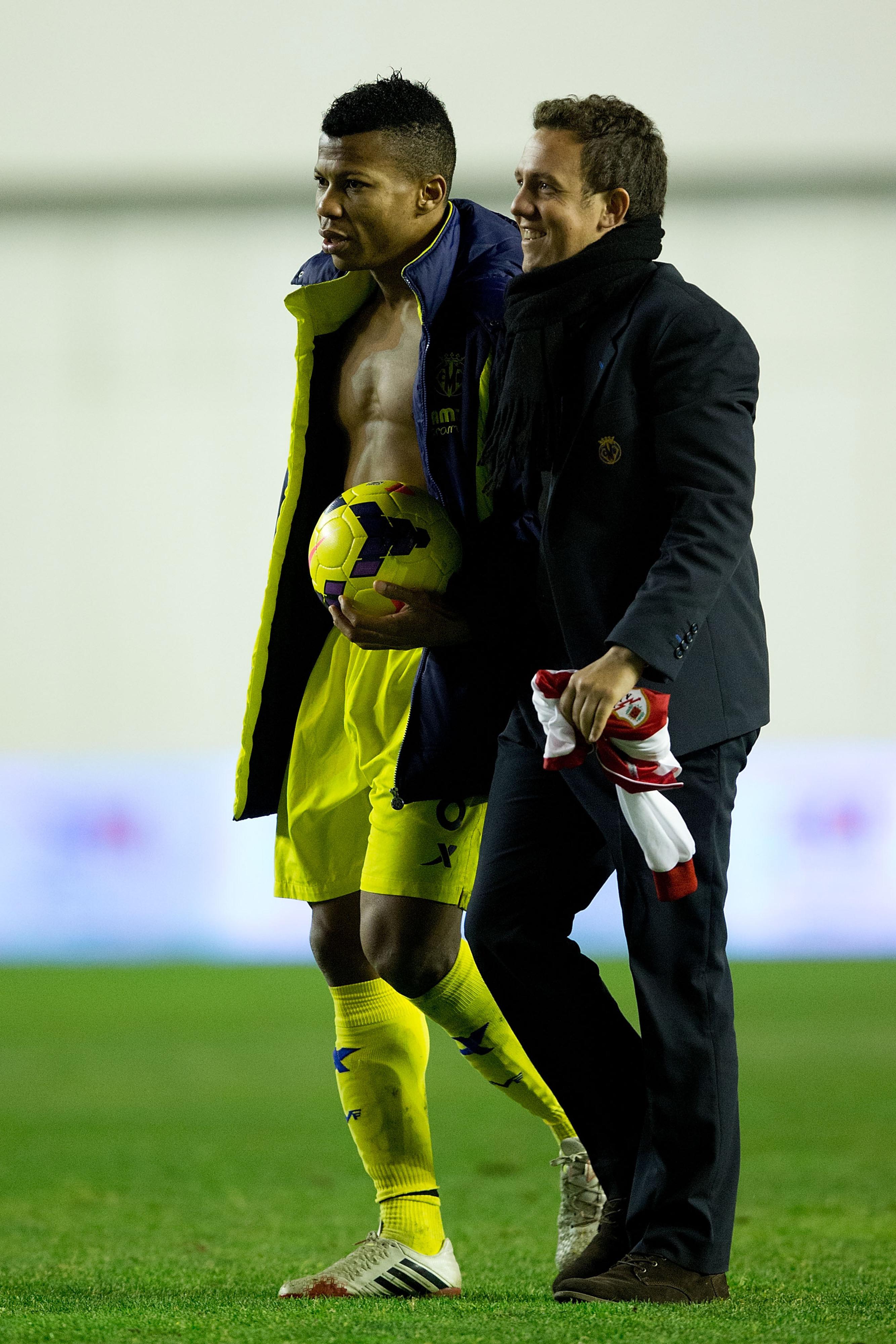 Ikechukwu Uche, hat-trick hero.