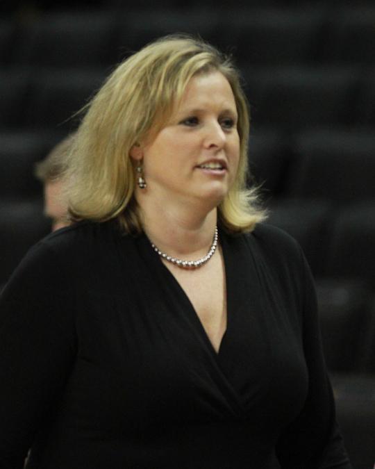 Wake Forest head coach Jen Hoover