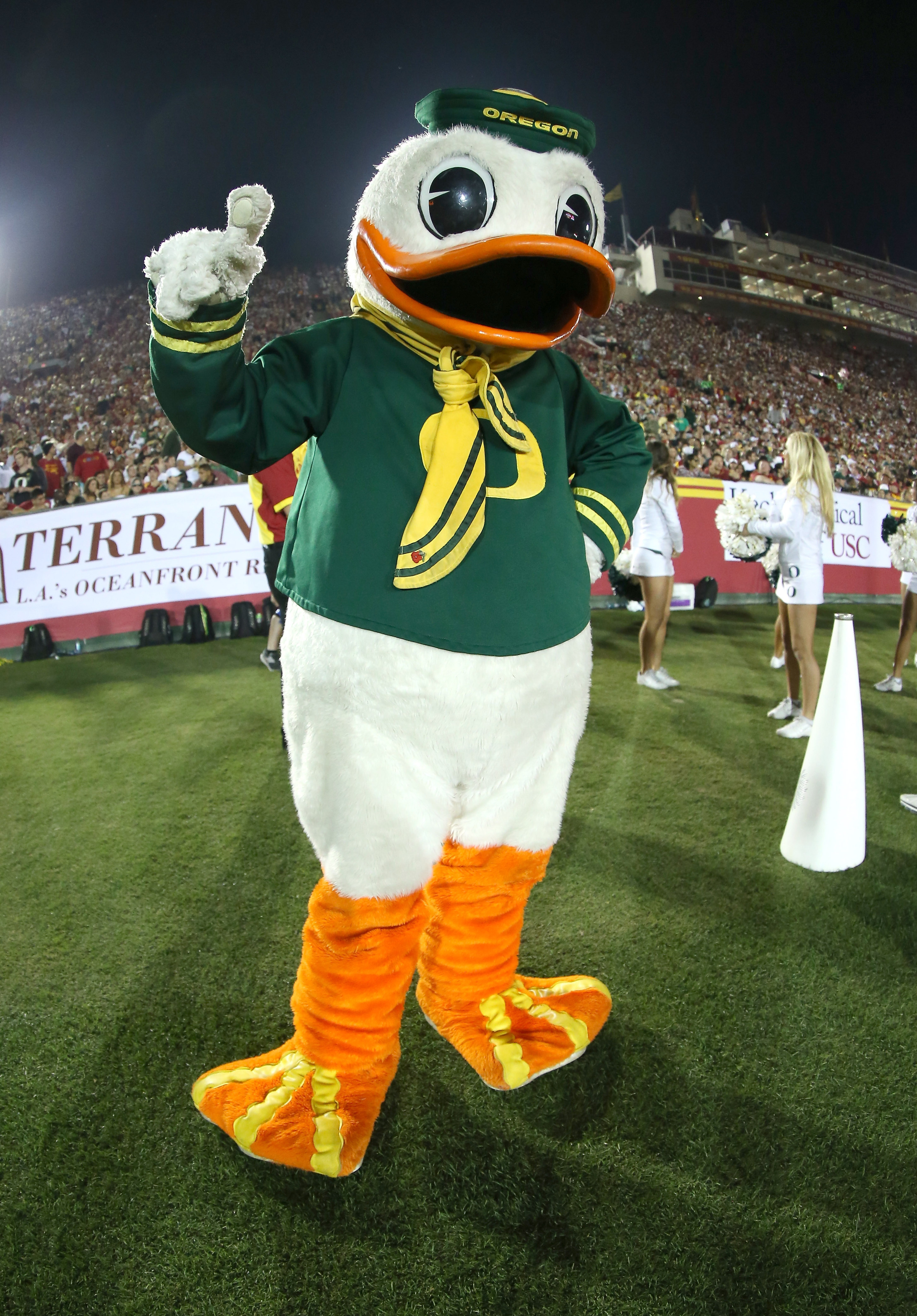 We know who the Duck thinks is the best team in the country