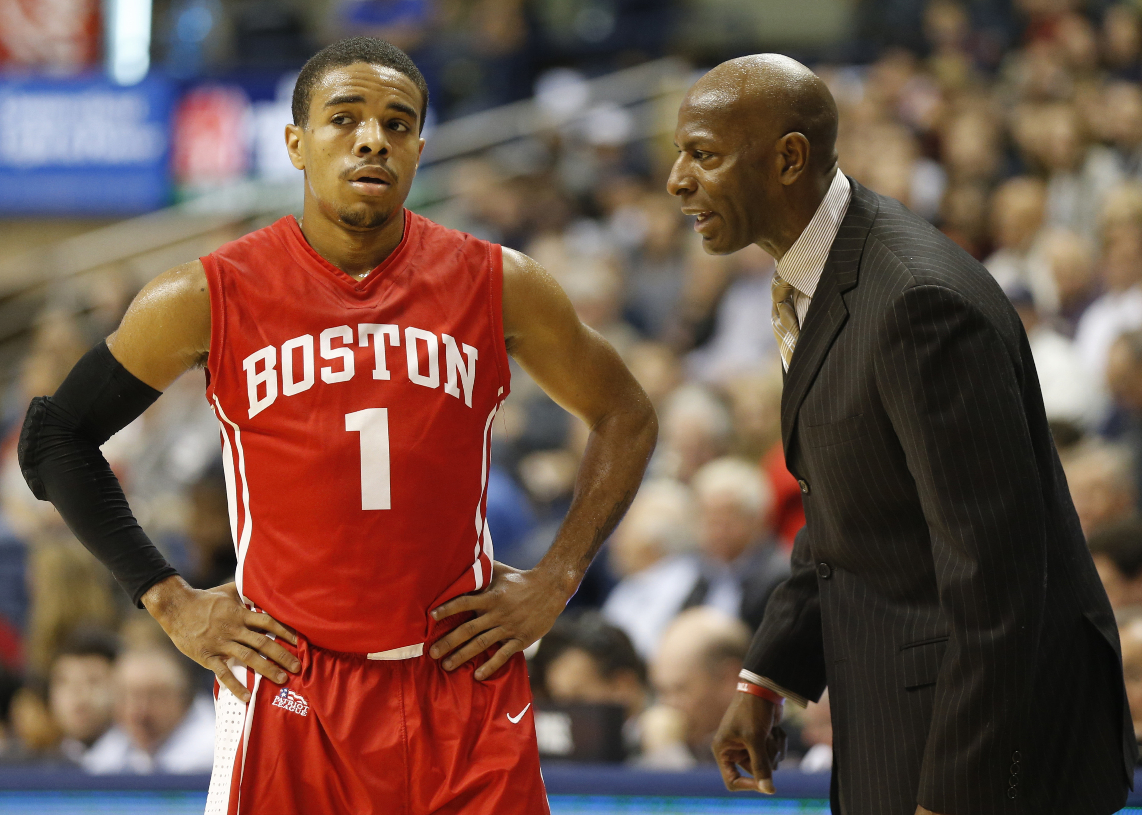 Mo Watson Jr. came to BU to play for Joe Jones, and the marriage has been great for both parties.