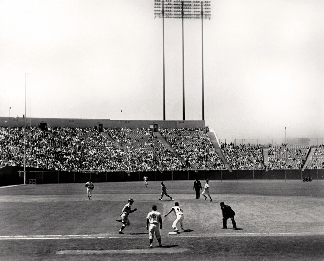 This is from 1965, but use your imagination. Also, imagine just how cold Candlestick was when it was open.