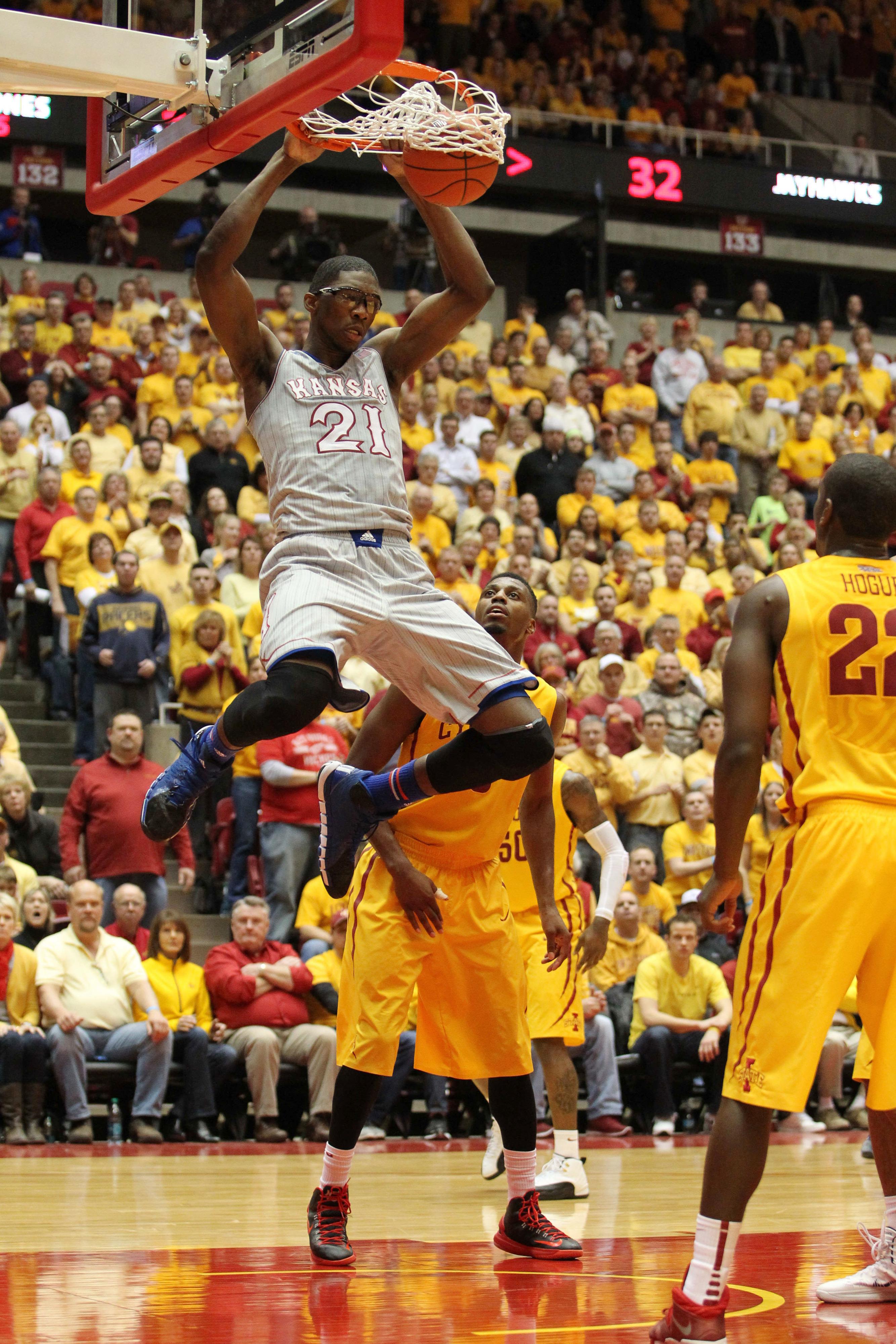 NCAA basketball schedule: Kansas hosts Baylor in Big 12 showdown