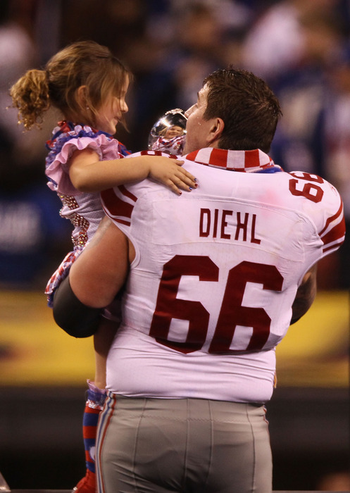 David Diehl announces retirement after 11 seasons with New York Giants