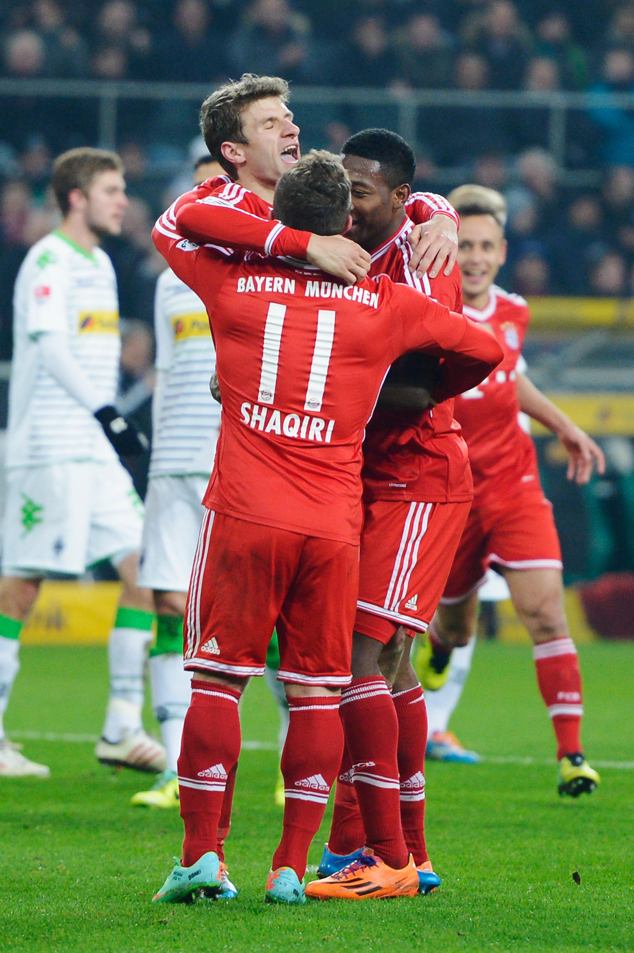 Borussia Mönchengladbach vs. Bayern Munich: Final score 0-2, easy for the Bavarians