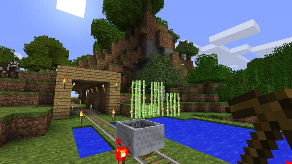 Minecraft for PS3 sells more than 1M units