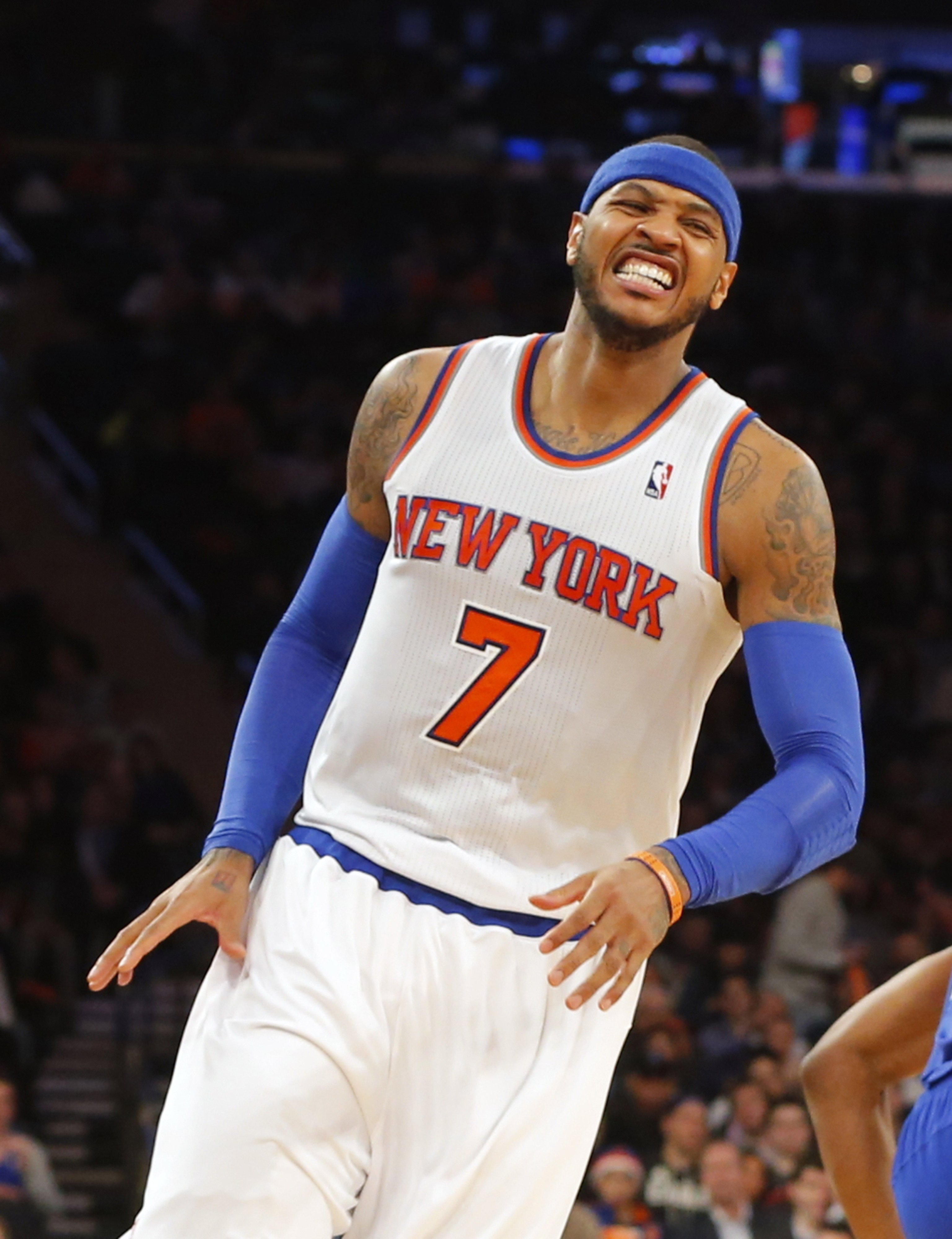 Carmelo Anthony's 62 points breaks Knicks, MSG records