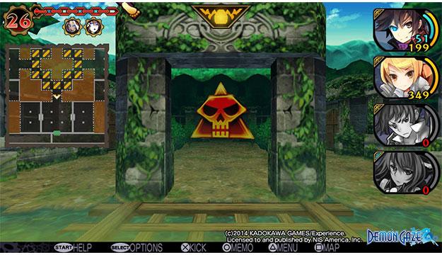 Demon Gaze getting Western release on PlayStaton Vita April 22