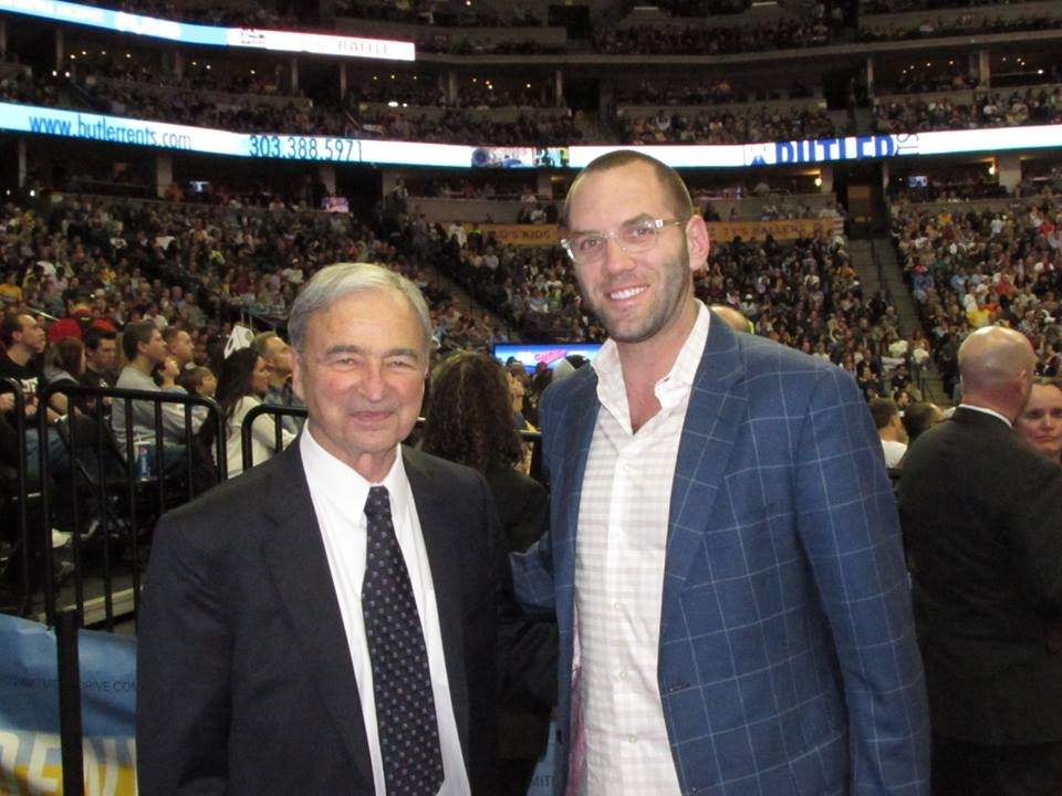 The forever gracious Carl Scheer, the man who saved pro basketball in Denver.