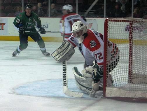 Goalie Andrew Engelage was named the 2nd Star of the Week in the CHL